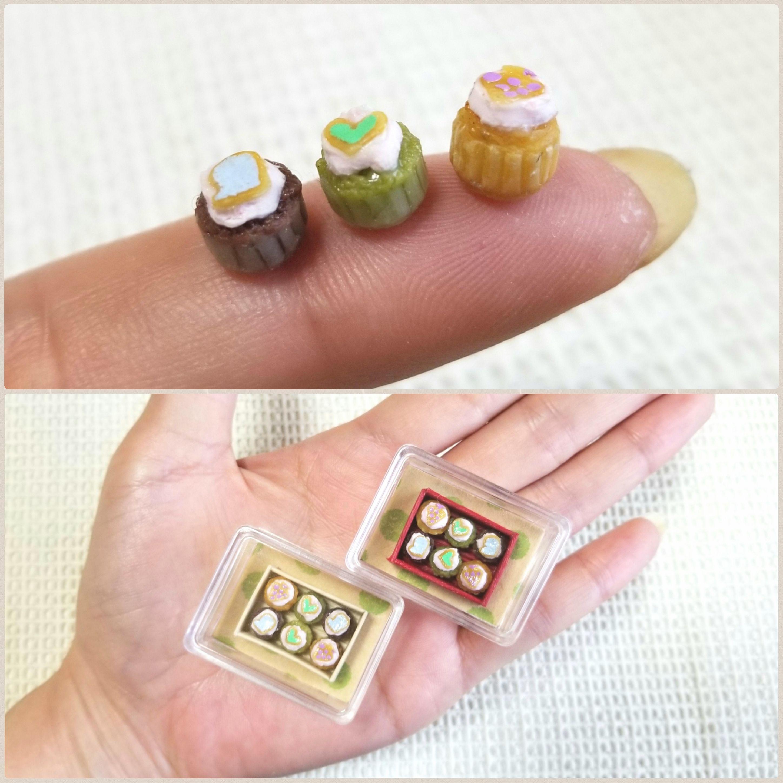 ミニチュアフード,アイシングカップケーキ,ドール小物,おもちゃ販売