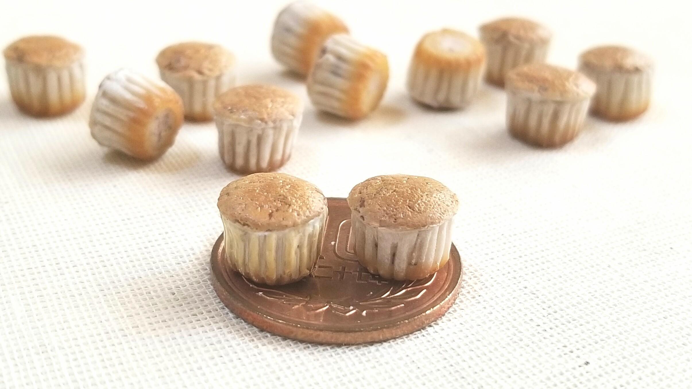 ミニチュアフード樹脂粘土アート小さな世界可愛いカップケーキ洋菓子
