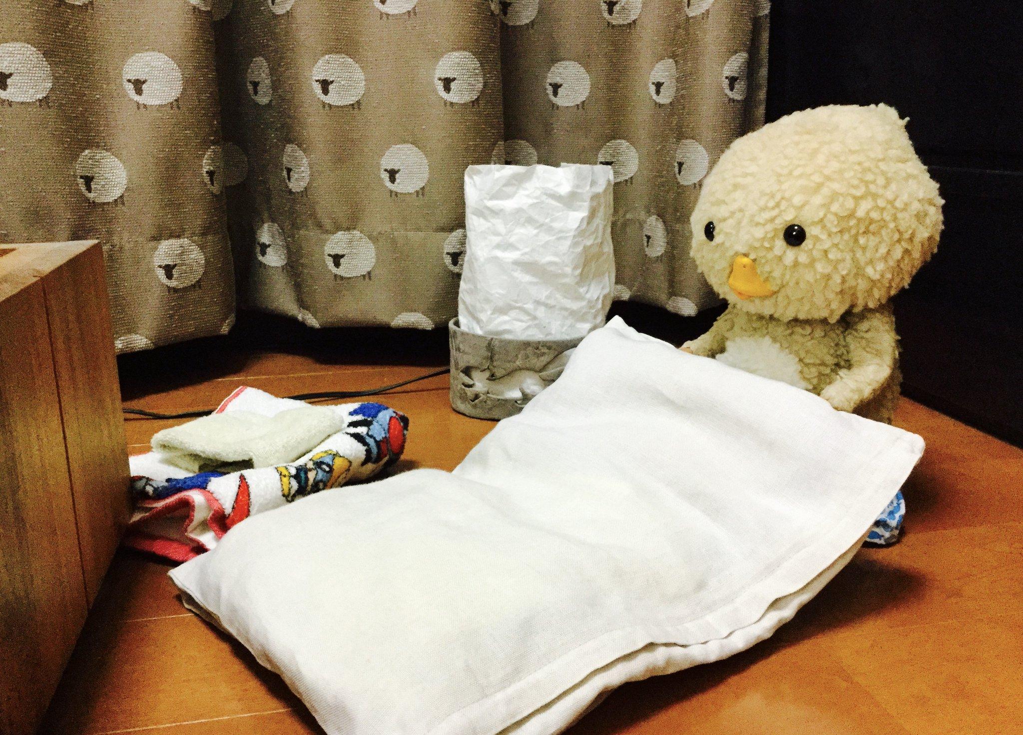 東京トガリくん,寝る準備,夜更かしはダメ,禁物,早く寝なさい