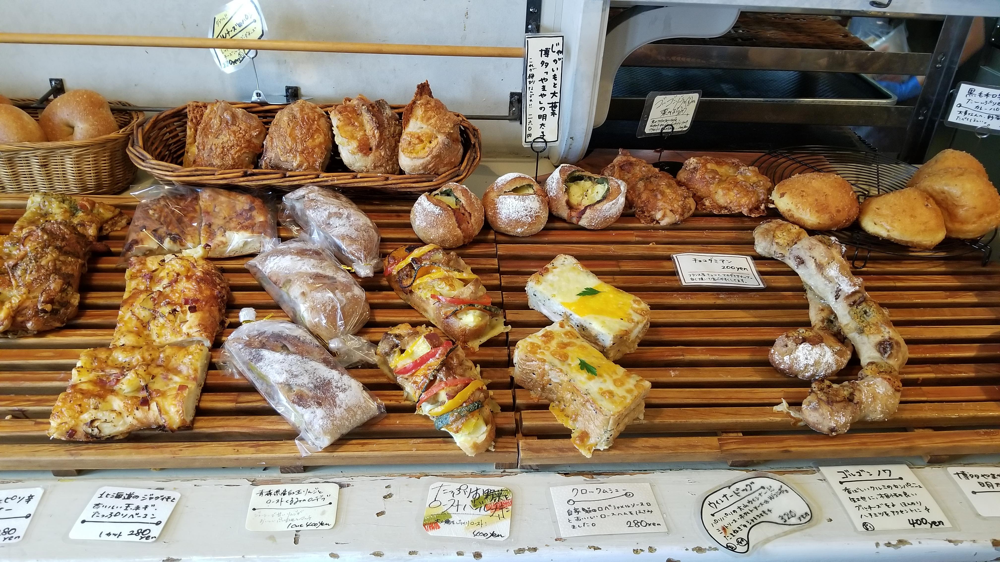 愛媛県松山市おいしいおすすめ人気辻パン屋さんスポットグルメ