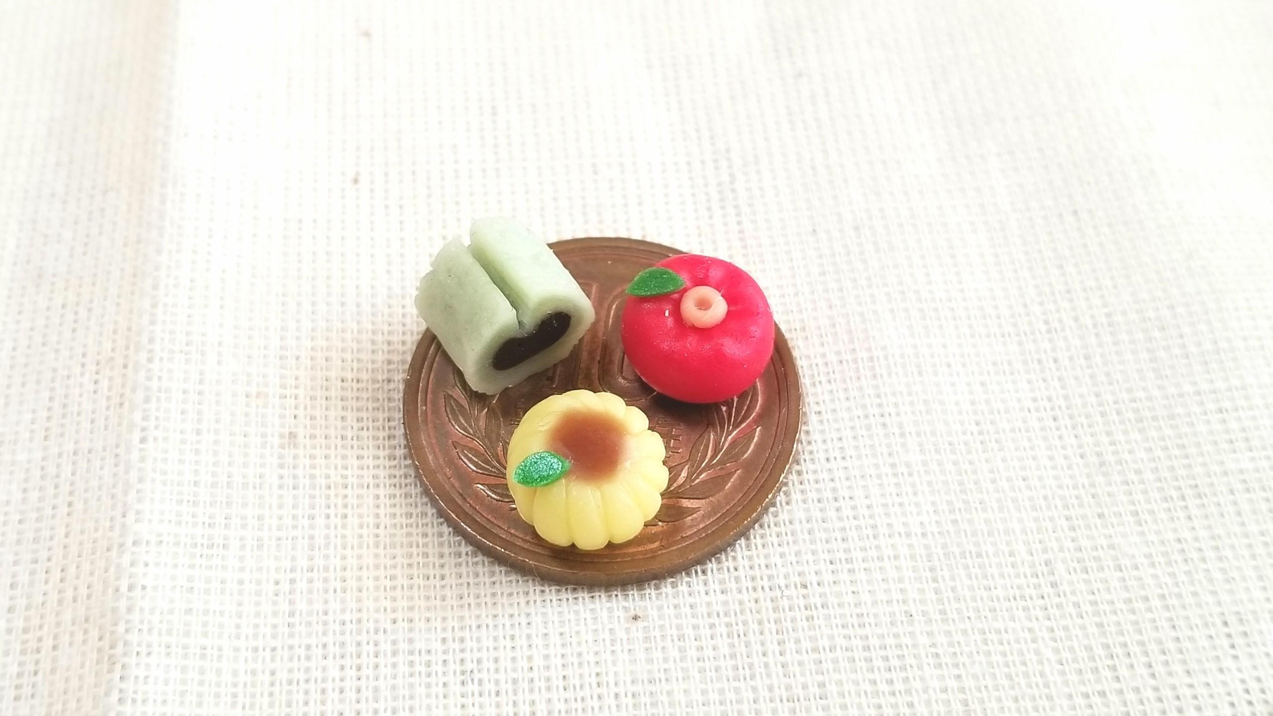 和菓子,ミニチュア,オビツ,ねんどろいど,刀剣男士,プチフェアリー