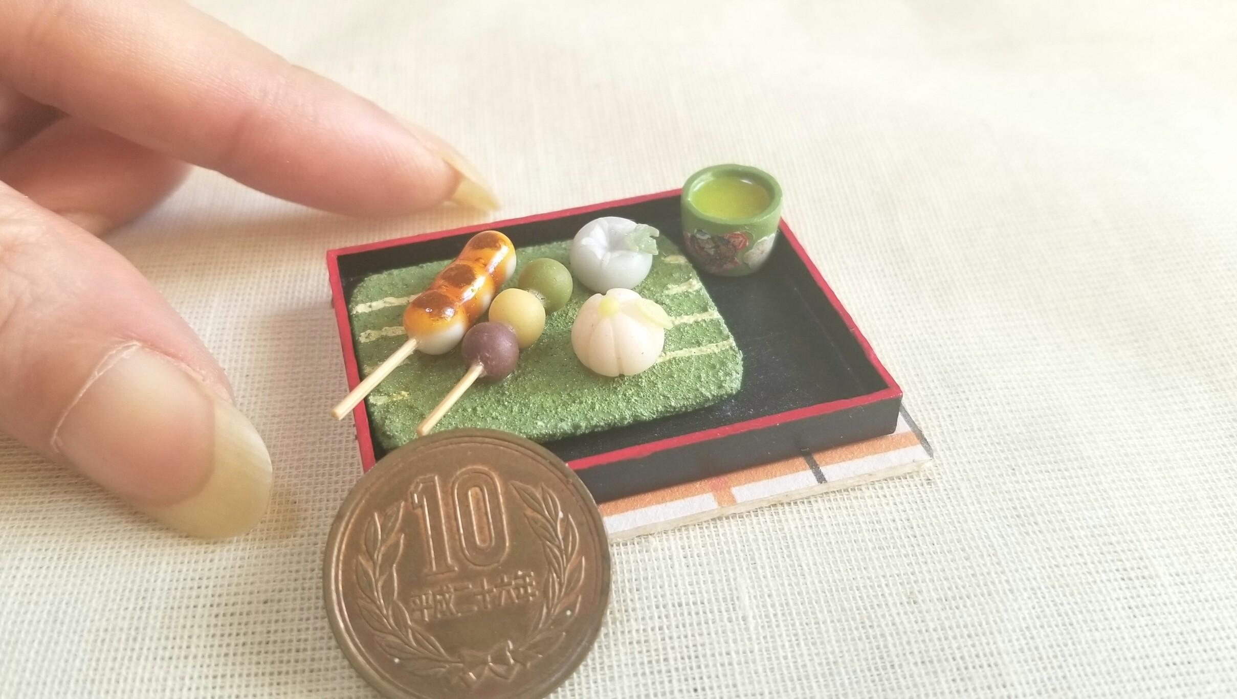 愛媛県名物甘味土産坊っちゃん団子ミニチュアフード作家おすめ和菓子
