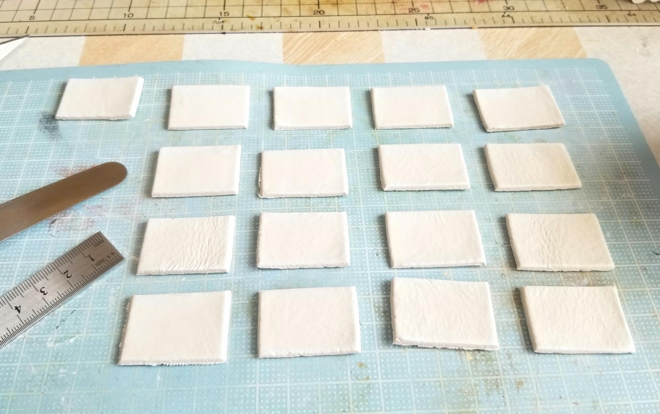 ミニチュア,和風食器,仕込み,石粉粘土,石塑粘土,ハンドメイド