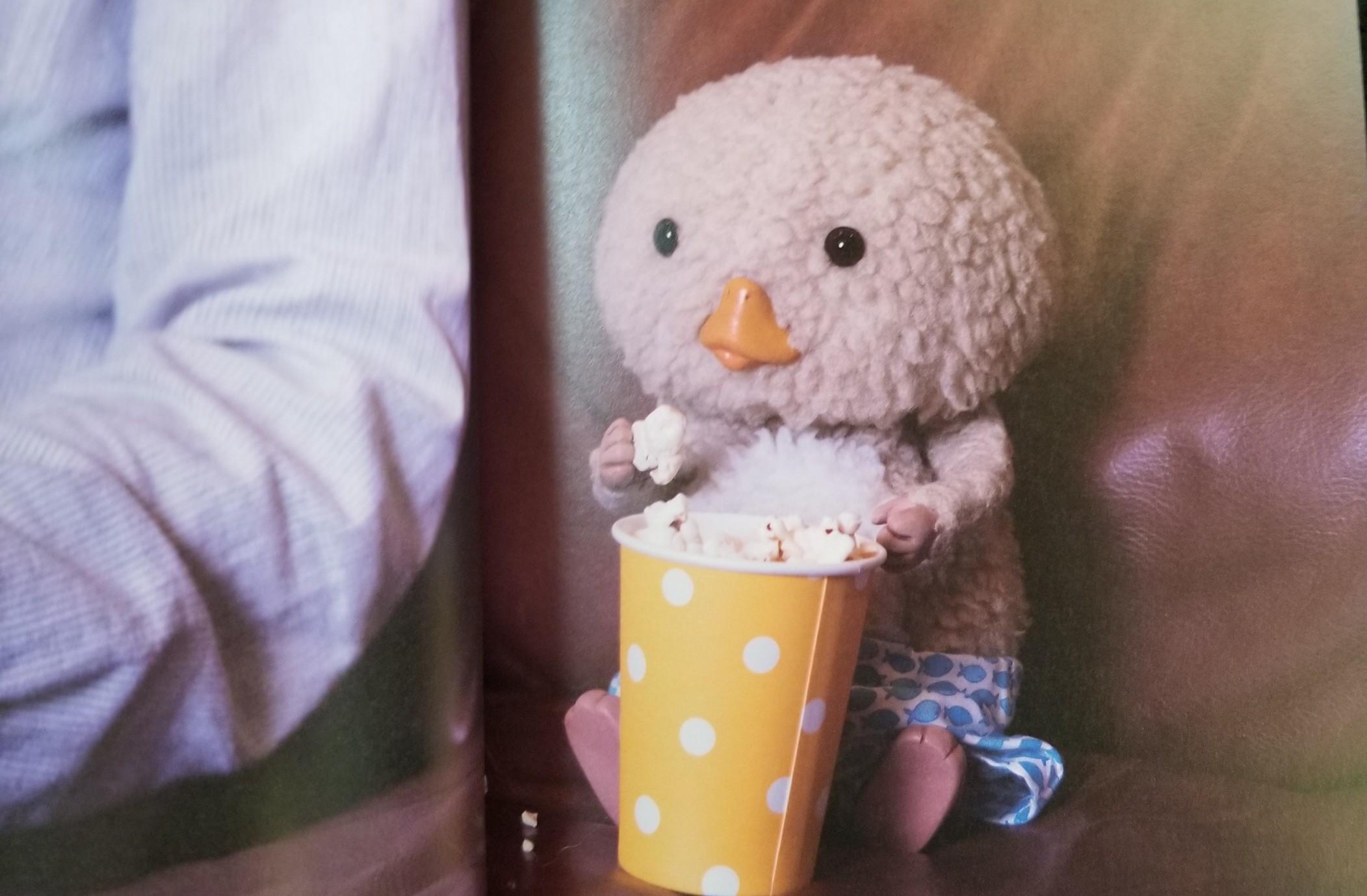写真集,東京トガリ,フォトブック,感想,可愛い,おやつ,ポップコーン