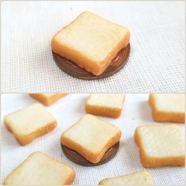 ミンネの日,お買い得,Yomogi's Happiness,ミニチュアフード,食パン