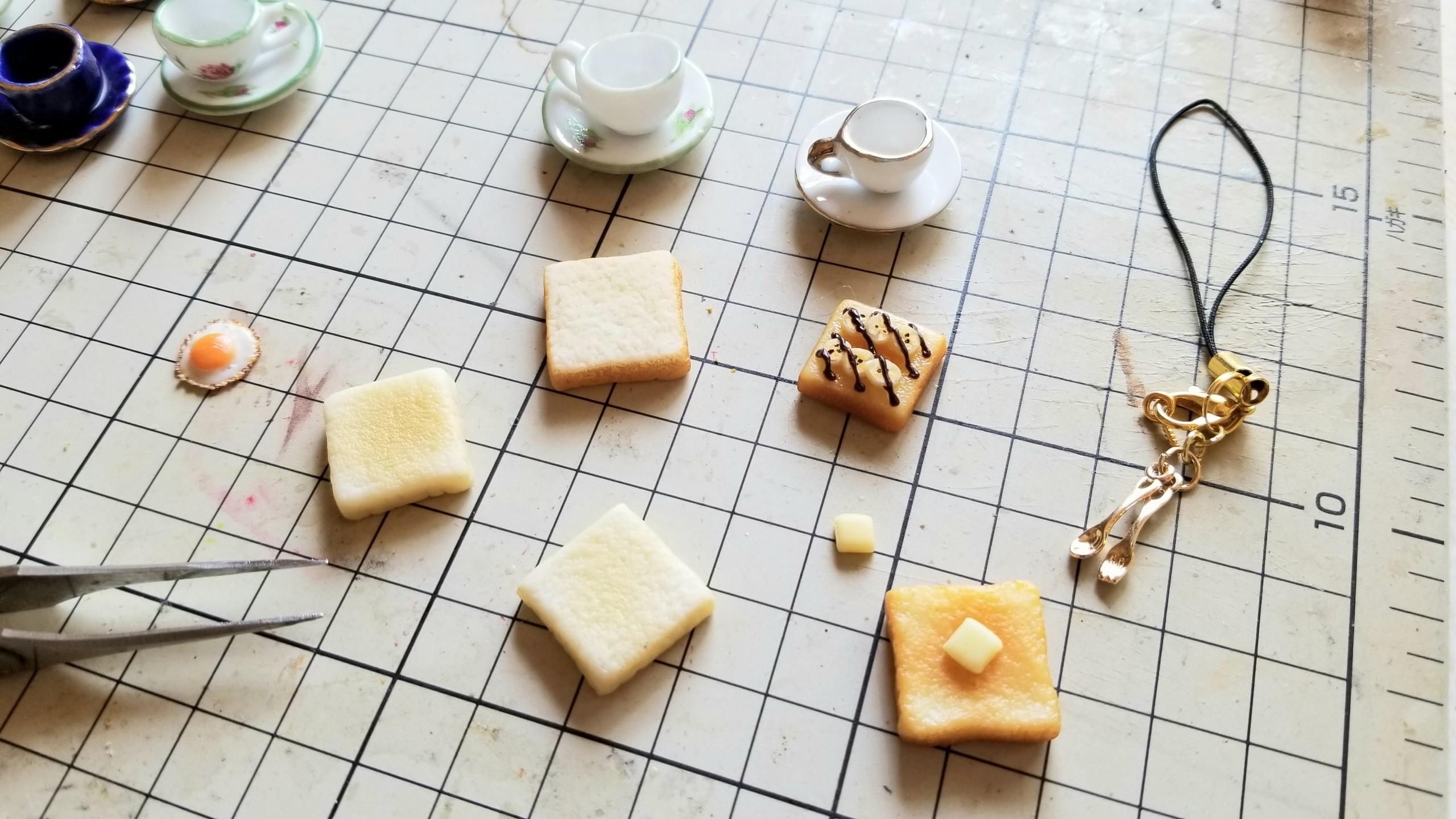 ミニチュアフード作り方かわいい小物自作アートハンドメイド手作り
