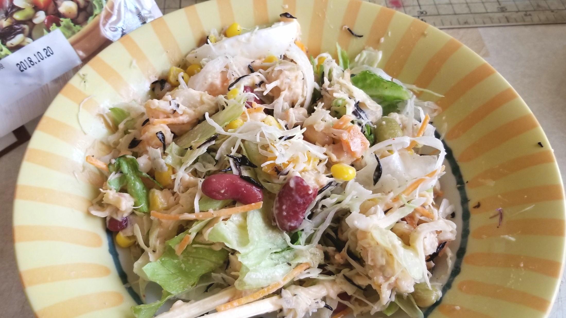 たっぷりの野菜サラダを摂取する,炭水化物抜きダイエット