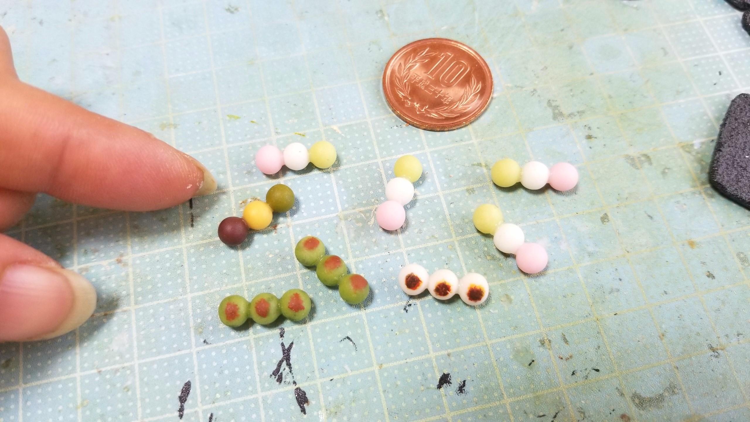 上品な人気おすすめ和菓子甘味お団子かわいいドール用品小物おもちゃ
