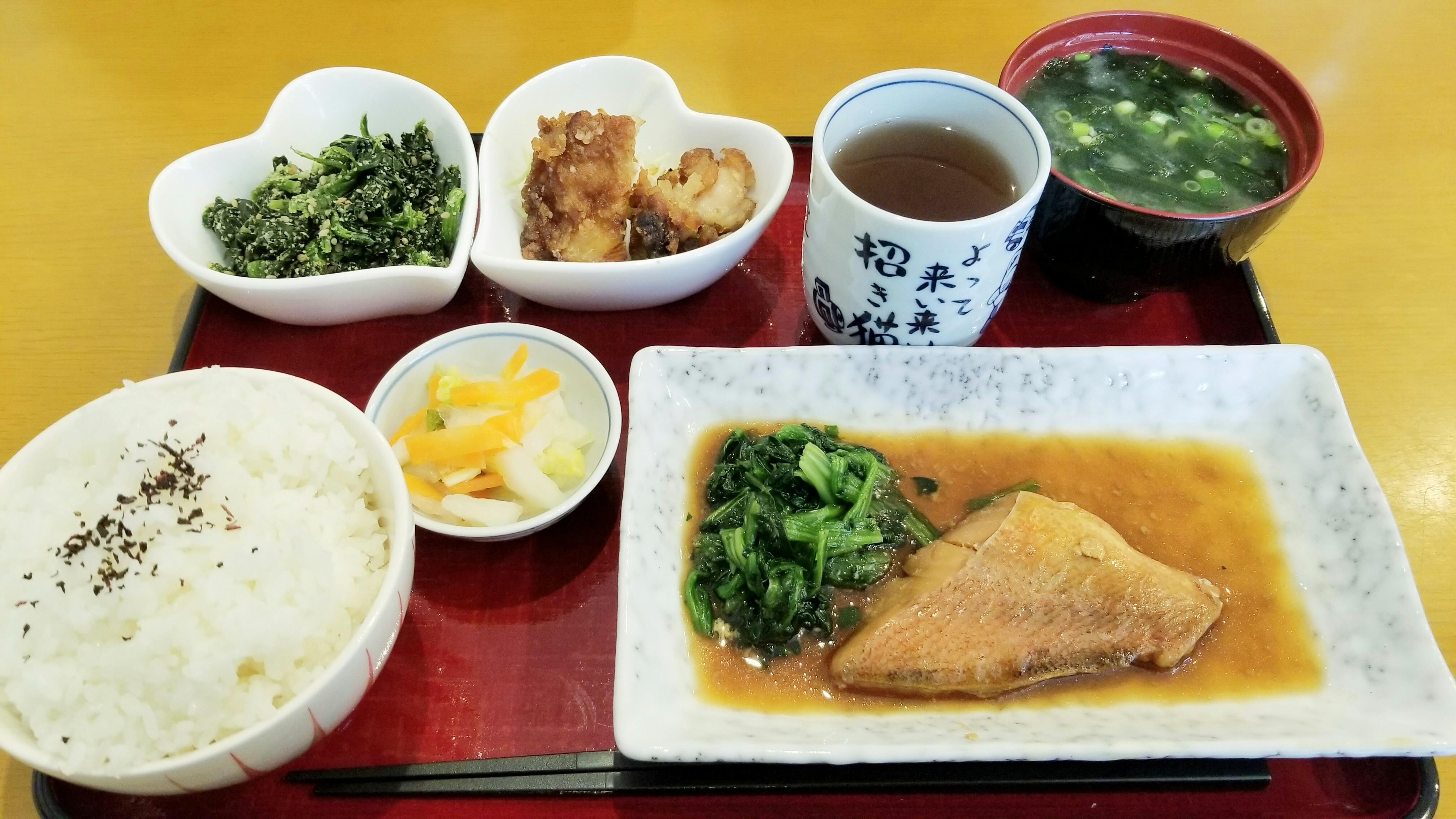ランチ近くおすすめ美味しいカフェクーポン松山市煮魚値段安い割引