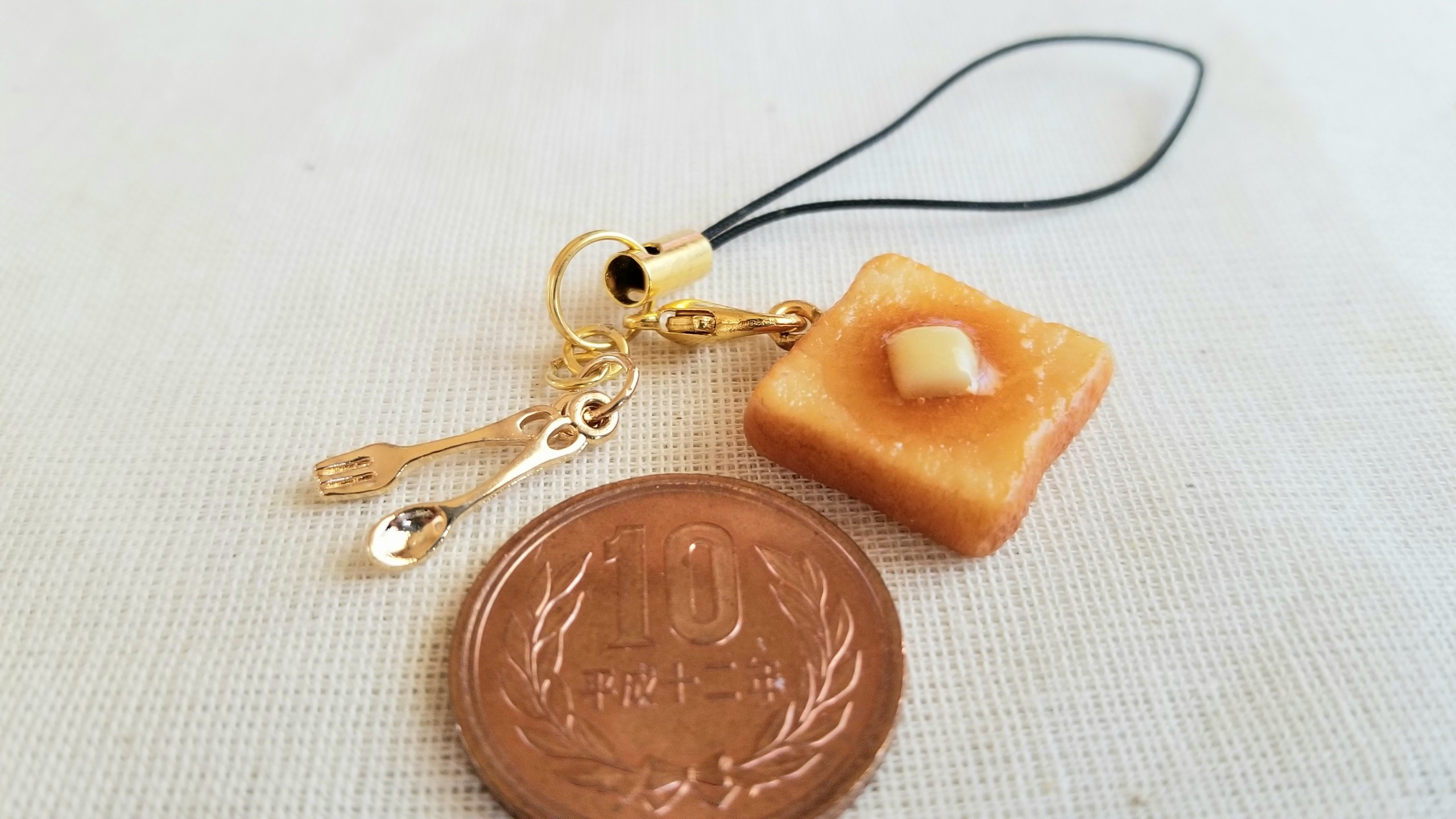 ミニチュアフードプレゼント企画トーストパン樹脂粘土ツイッター