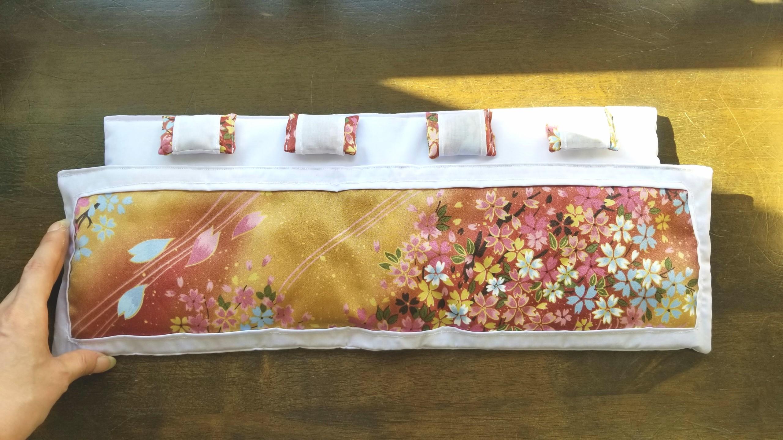 浅夢堂田吾,可愛いお布団と枕のセット,オビツろいど11,ドール用小物