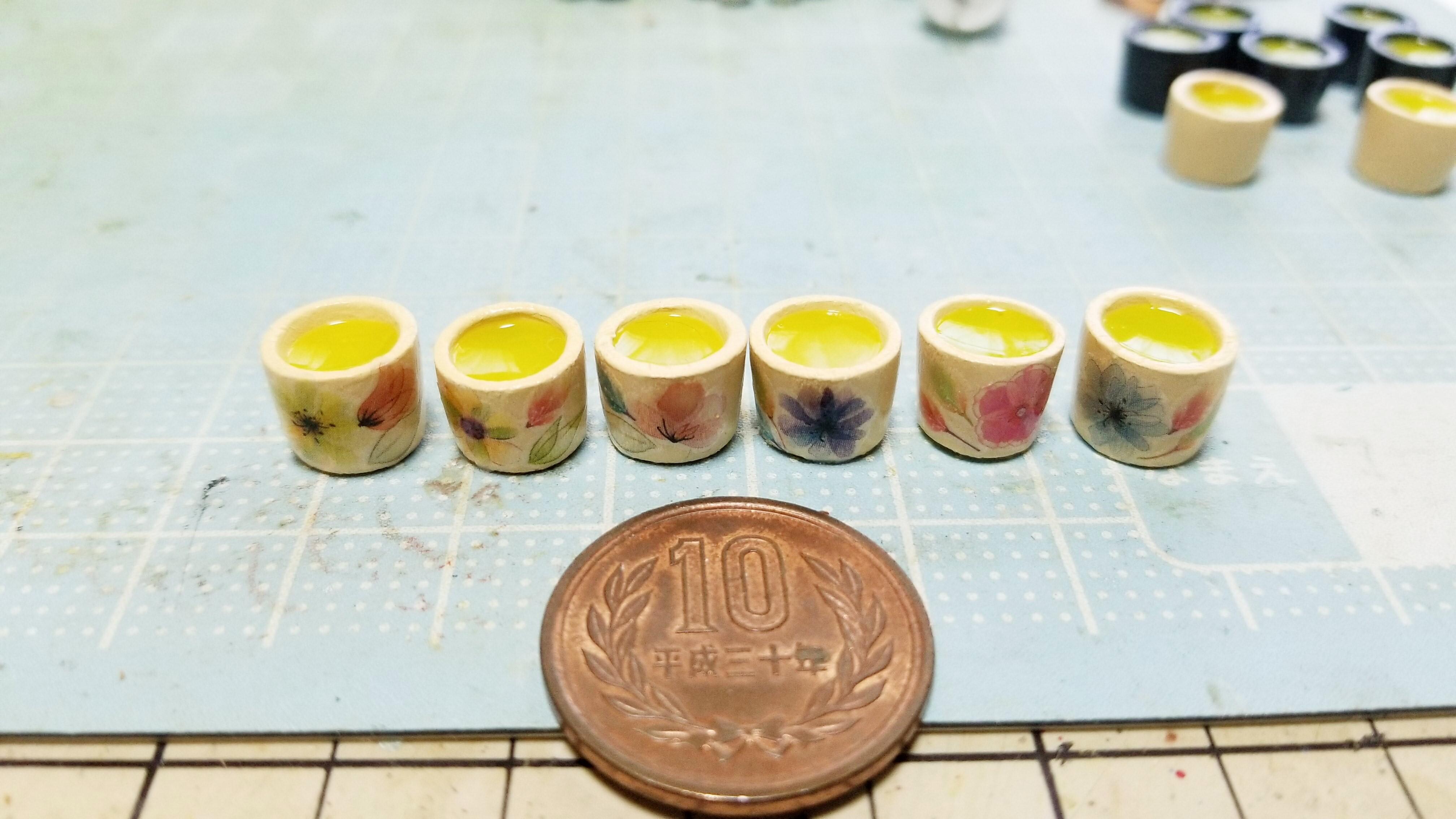 ミニチュアフード可愛いお洒落な小さい世界手作り小物お抹茶おすすめ