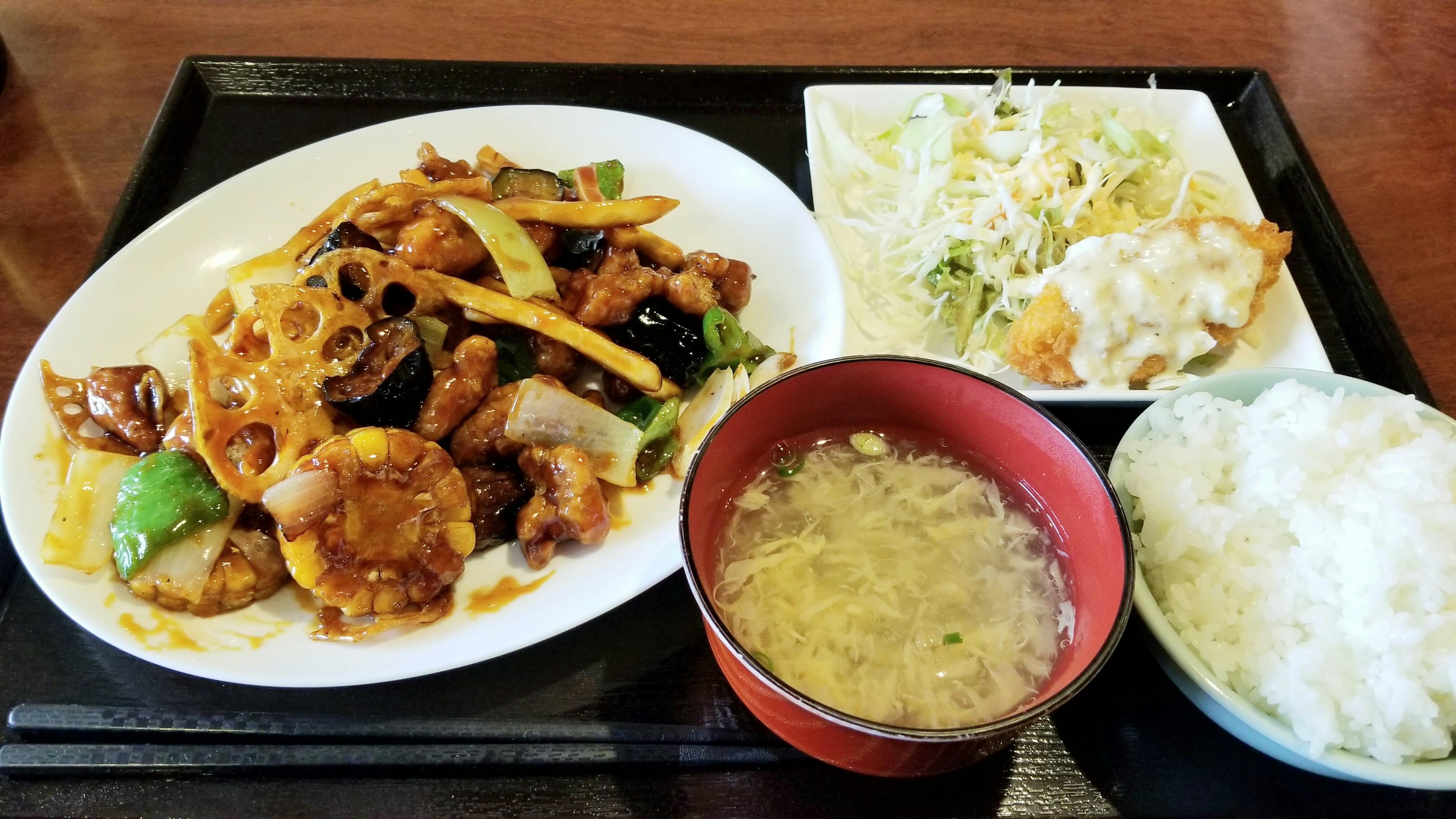 中華料理ランチ種類あんかけ炒め物美味しいおすすめ豚肉野菜本場安い