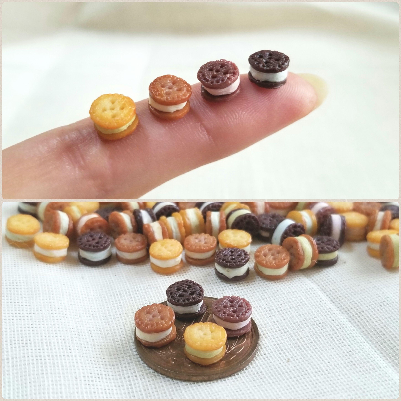 ミニチュアフード,クッキーサンド,お菓子,おすすめ,よもぎブログ