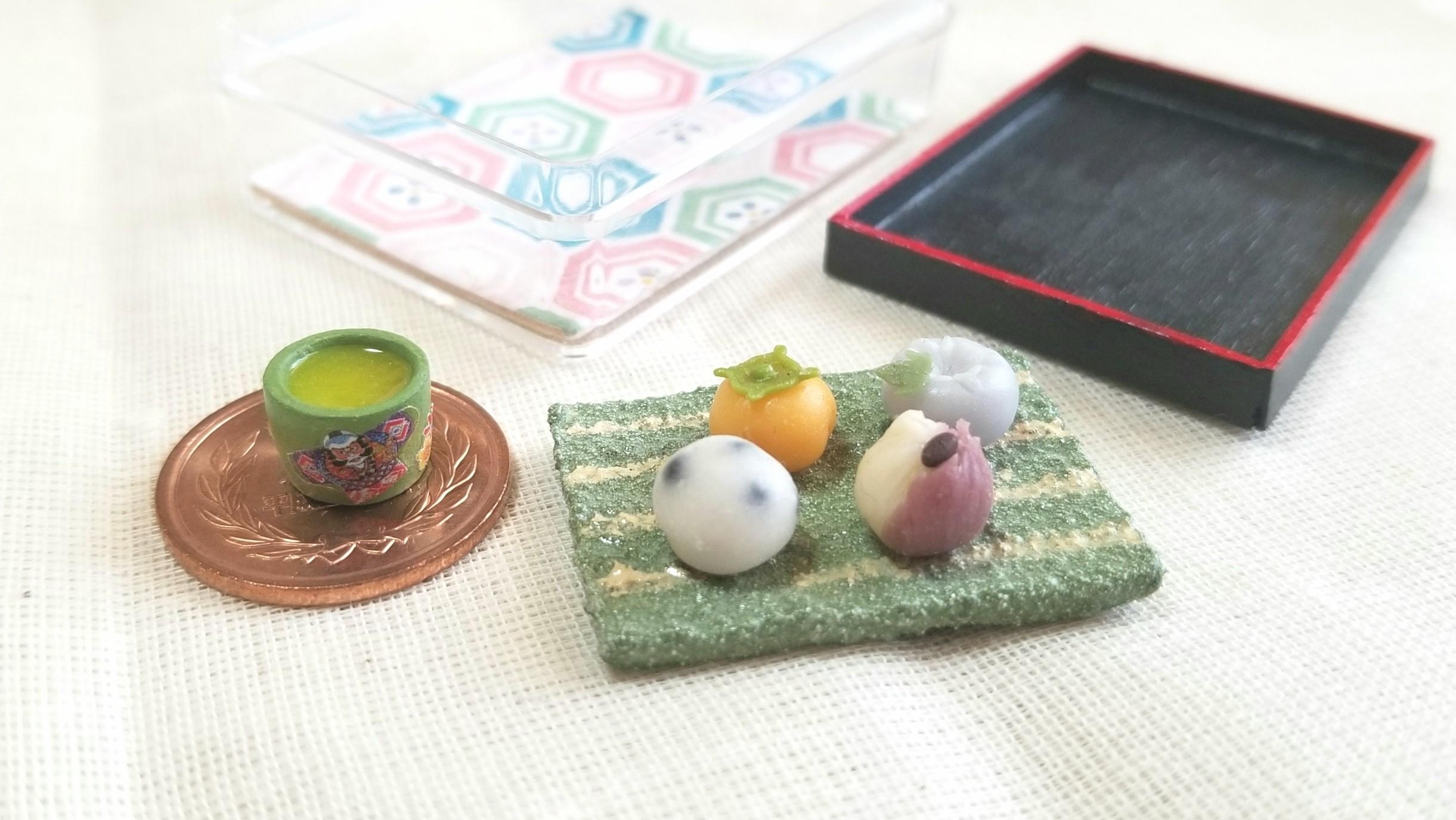 ミニチュアフード,人気の手作り和菓子,おいしい,おすすめ,ブログ