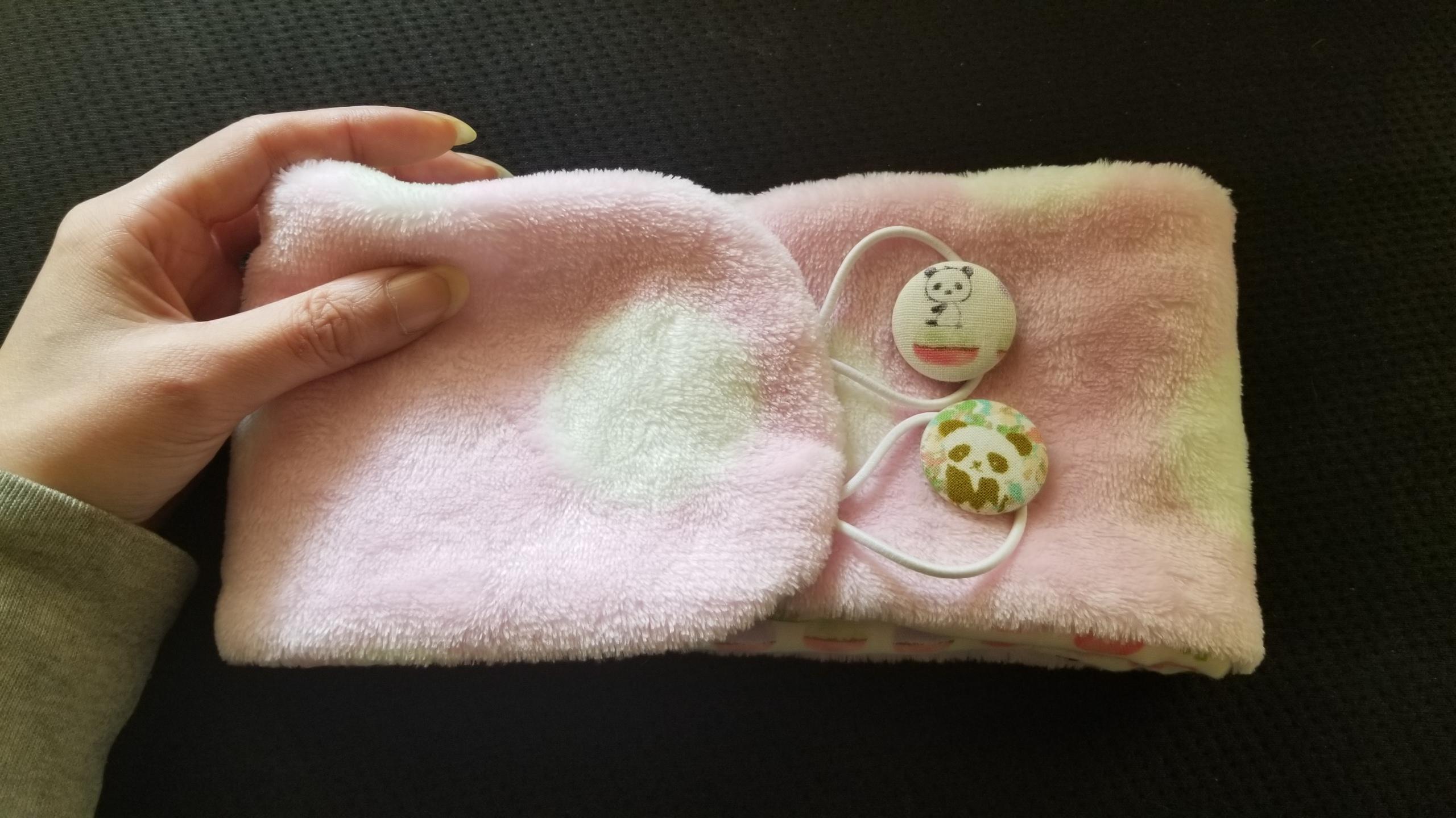 かわいい手作りハンドメイド,布小物,ネックウォーマー,首の痛み
