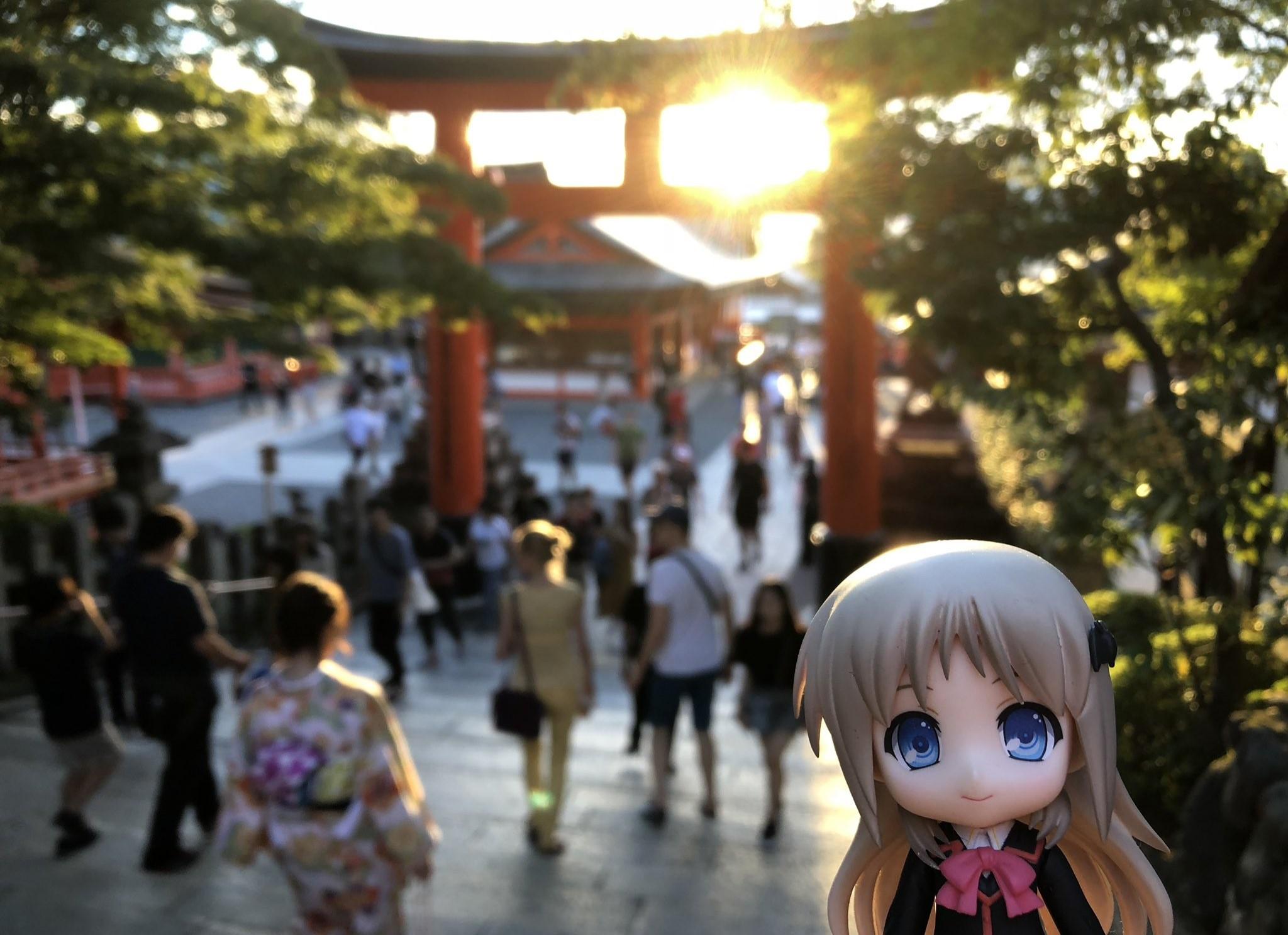 ドール撮影,神社,赤の鳥居,綺麗,日本人魂,和の心,風情がある,可愛い
