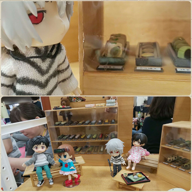 東京ドールハウスミニチュアショウ,ハウス,和菓子屋,キューポッシュ