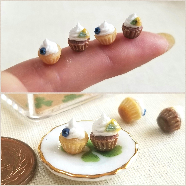 ミンネ販売,ミニチュアフード,可愛いカップケーキ,オビツろいど11