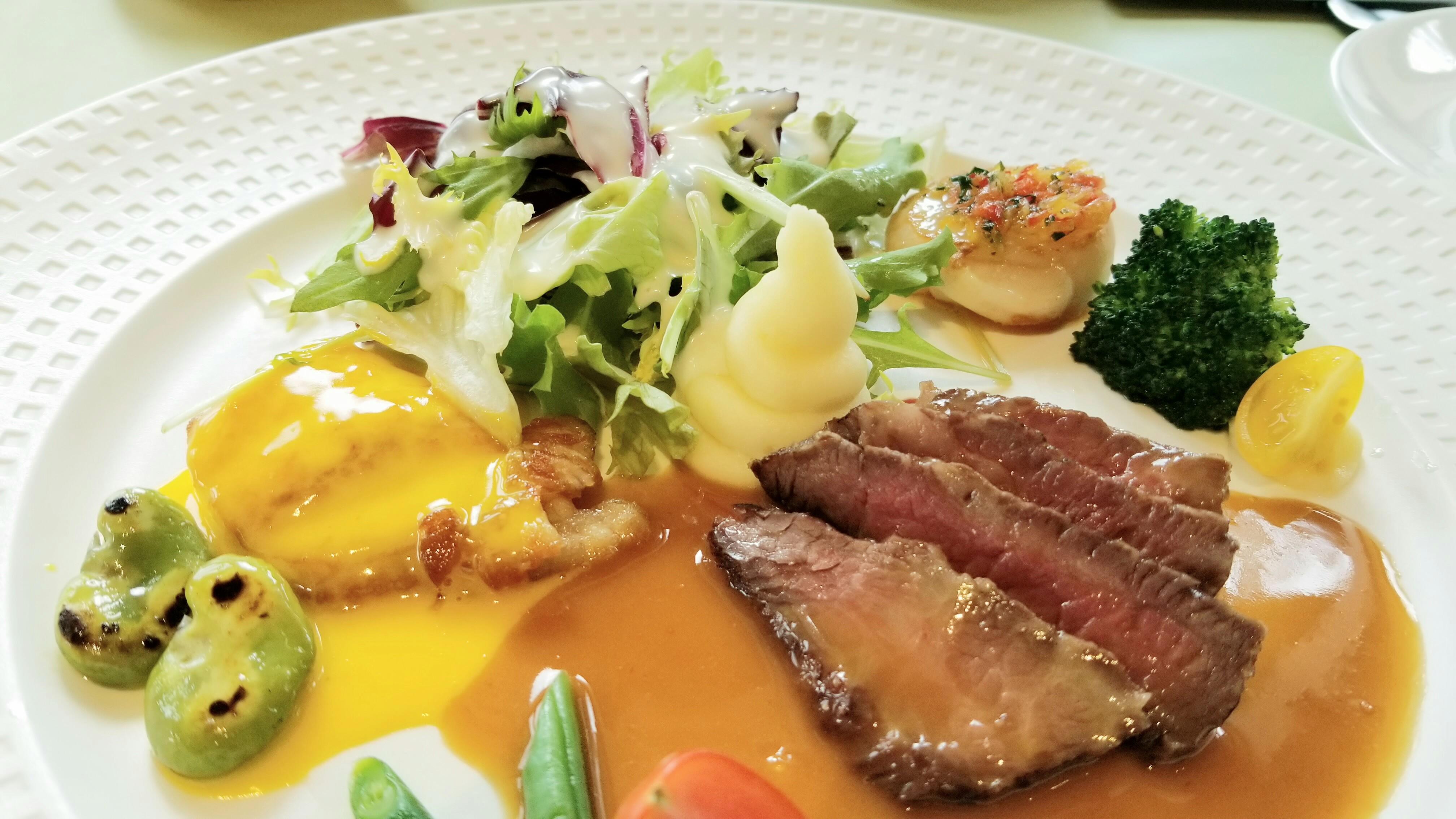 愛媛県松山市フランス料理おいしいコスパ良い横濱おすすめランチ