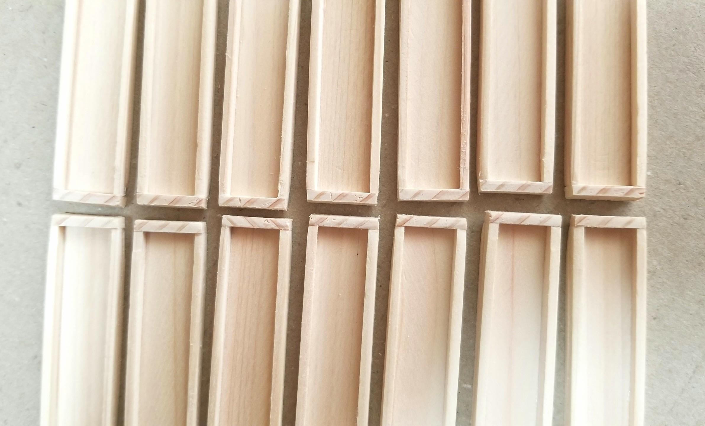 ミニチュアフード,木工作業,木製トレー,箱,作り方,ヒノキ,桧,ヤスリ