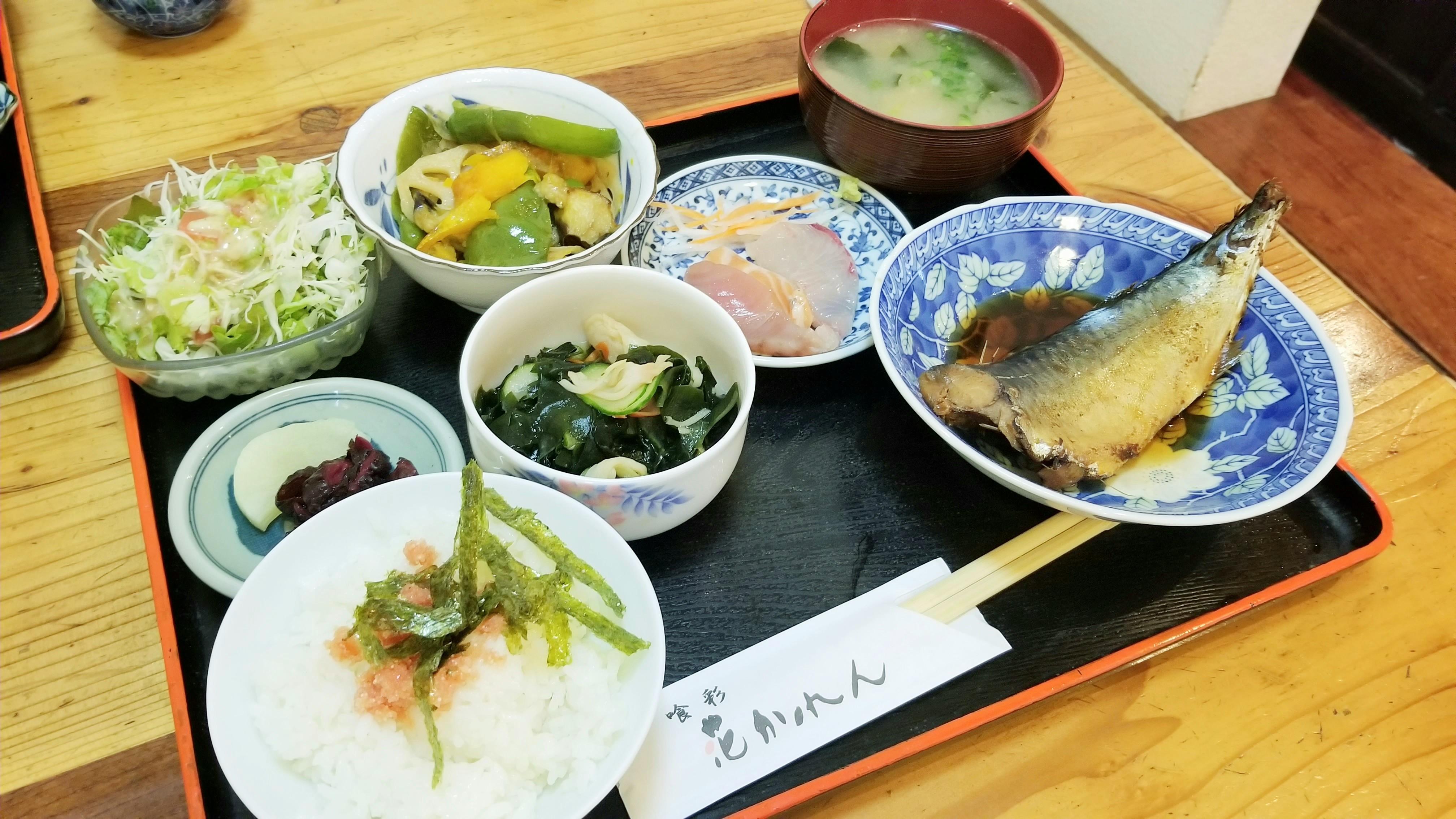 愛媛県松山市おいしいおすすめランチグルメ花かれん美沢穴場安い人気