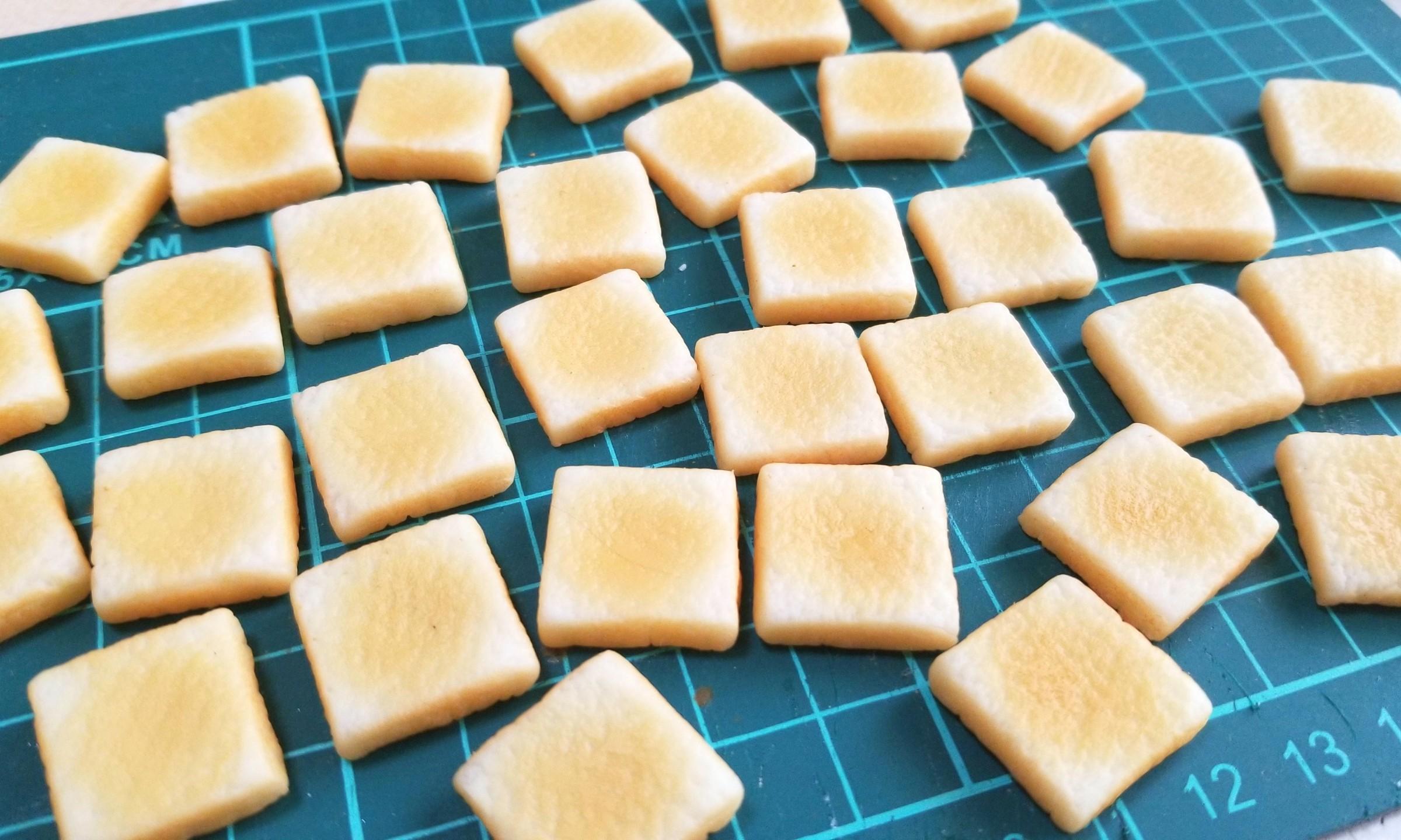 ラピュタパン,トースト,作り方,樹脂粘土,食パン,食品サンプル,ジブリ