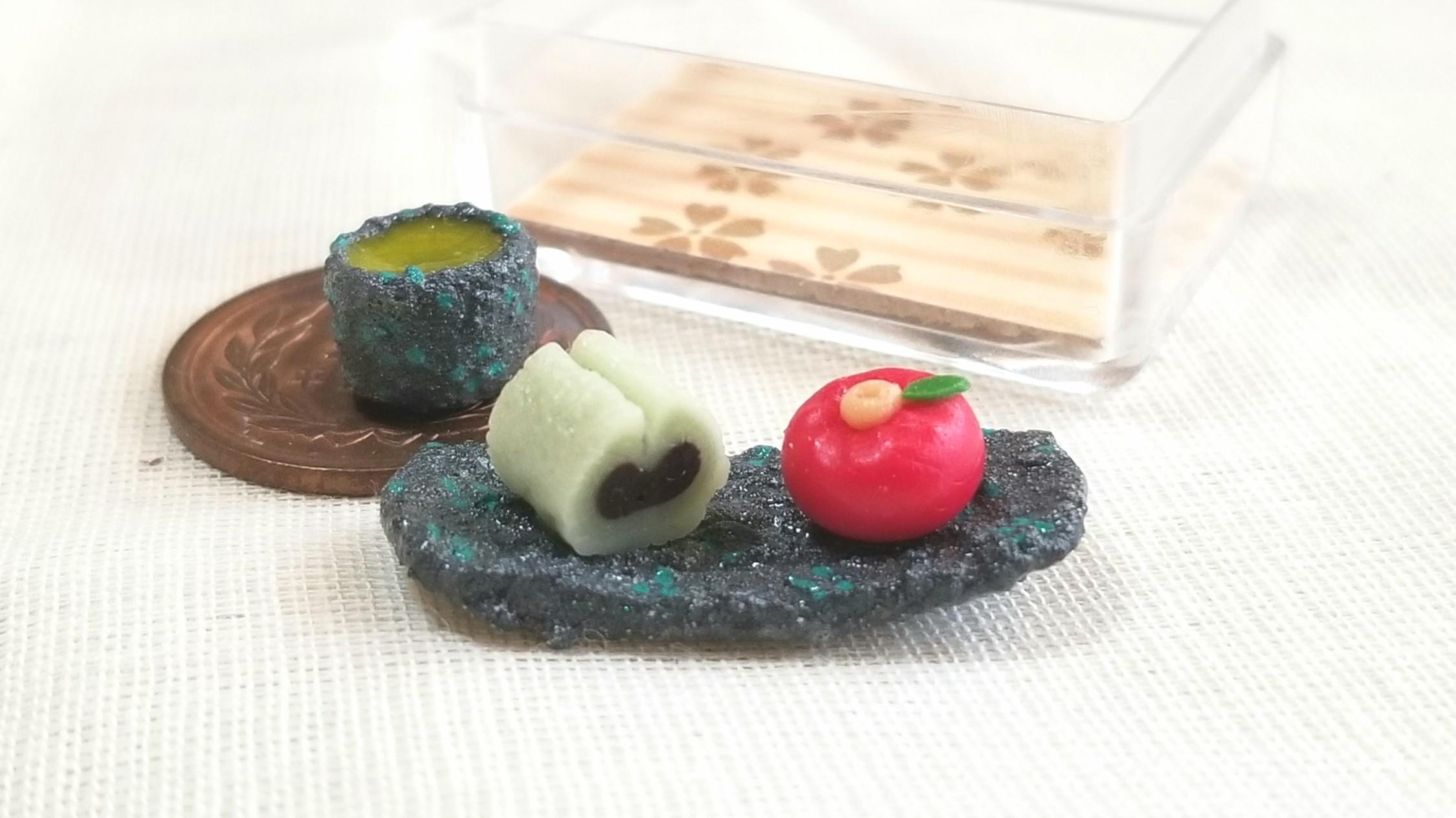 和菓子,ミンネで販売中,ミニチュア,ドール用品小物,フェイクフード
