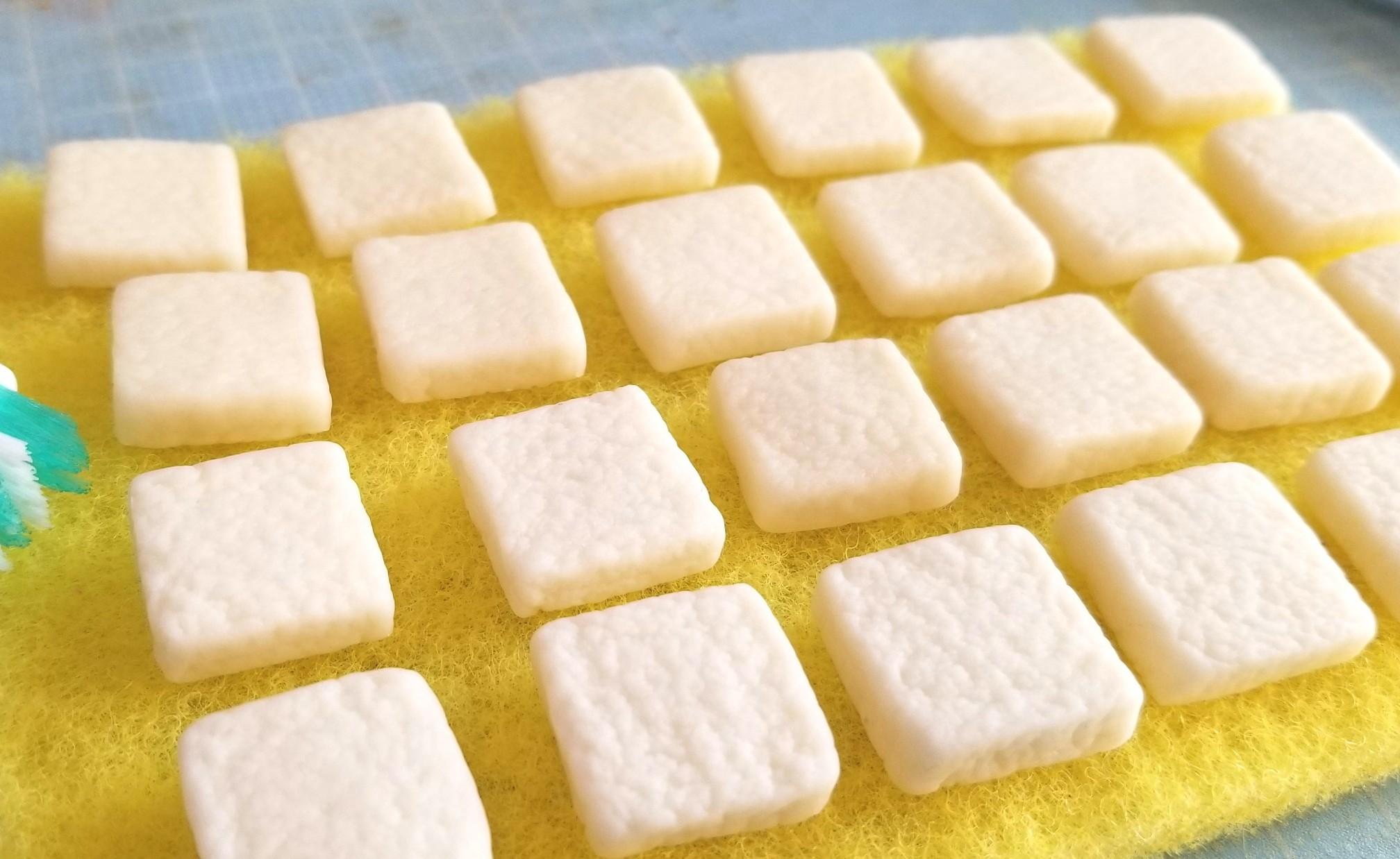 ミニチュアフード,食パン,パン,作り方,仕込み,樹脂粘土,ドール