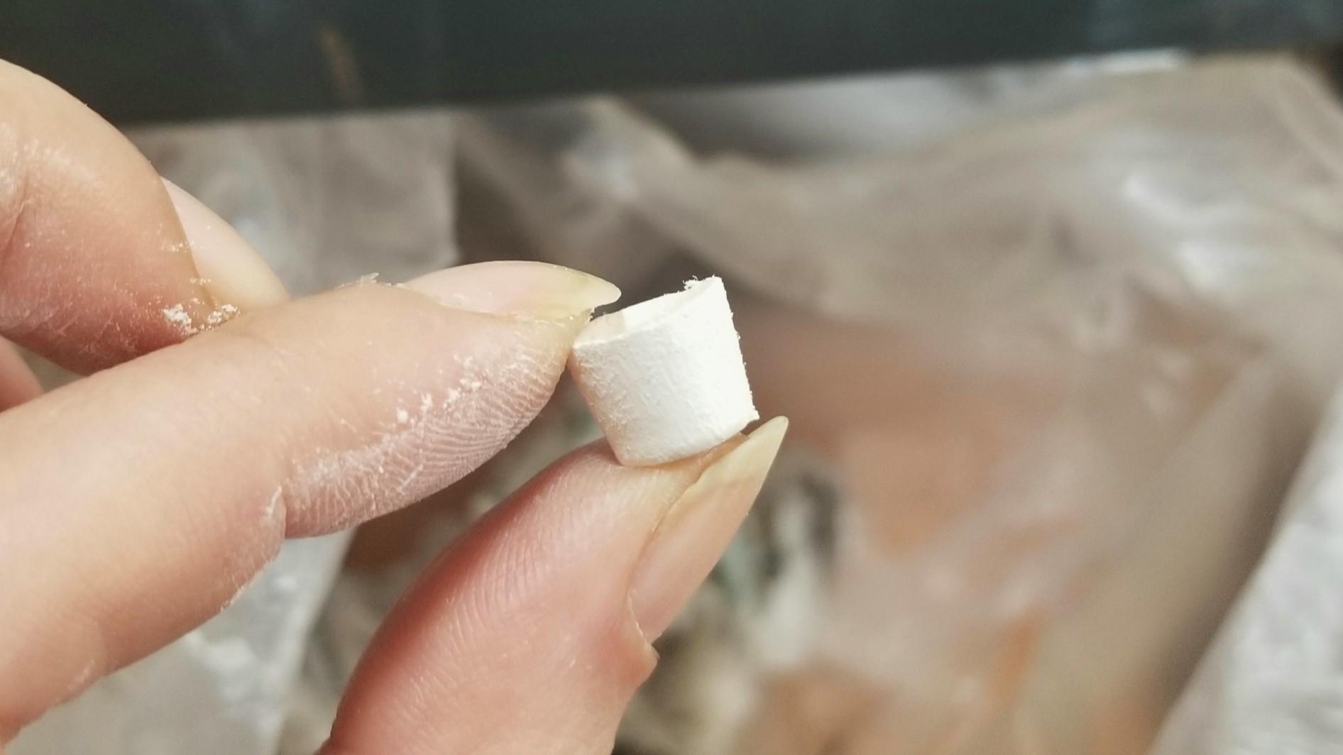 ミニチュアお抹茶の作り方,石塑粘土アート,ハンドメイド手作り,綺麗