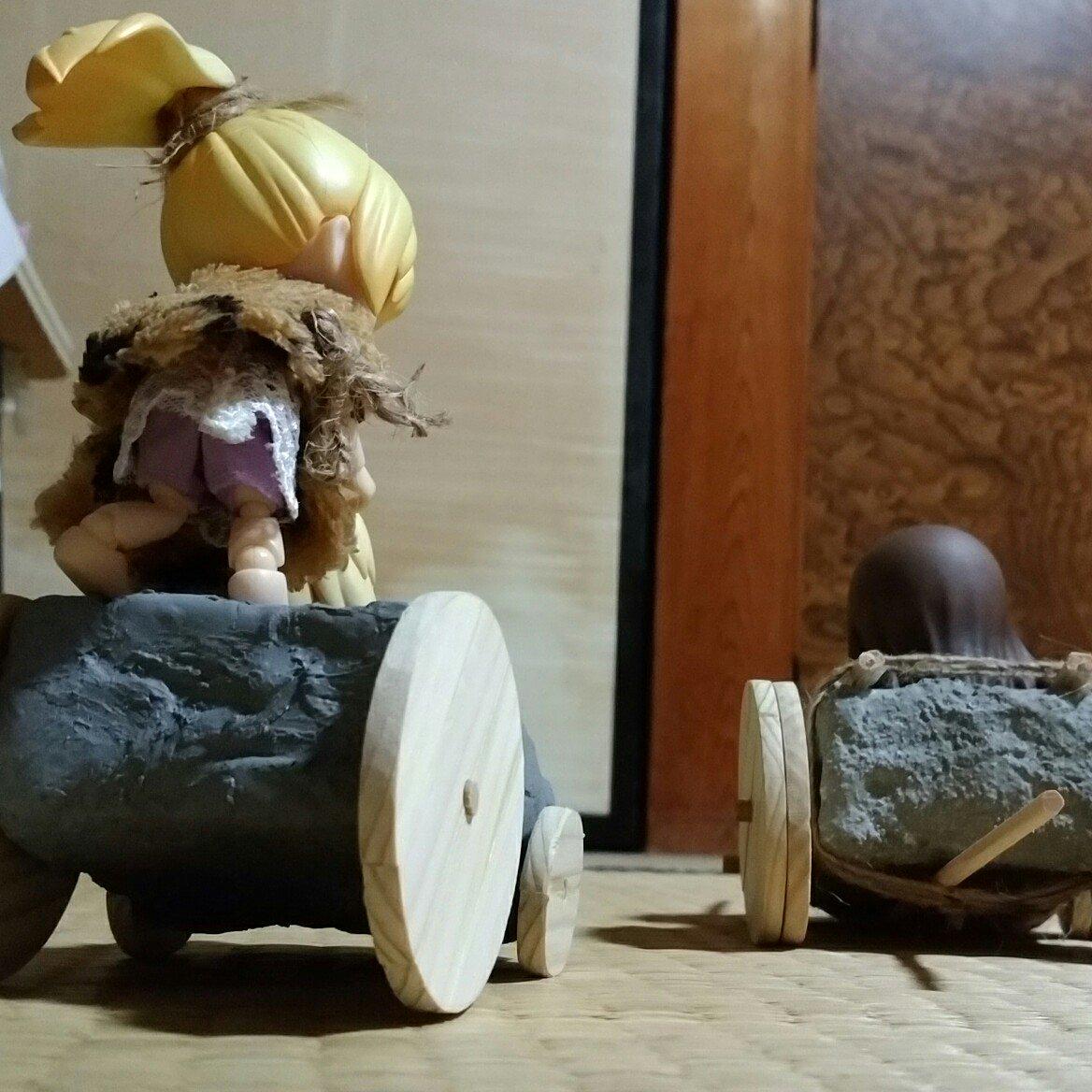 感動面白いストーリー,原始人の育成変化,フィギュア,暮らし衣服装