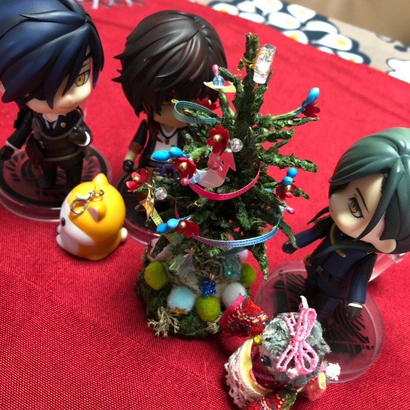 燭台切光忠,ねんどろいど刀剣乱舞,素敵なクリスマスツリー,ドール