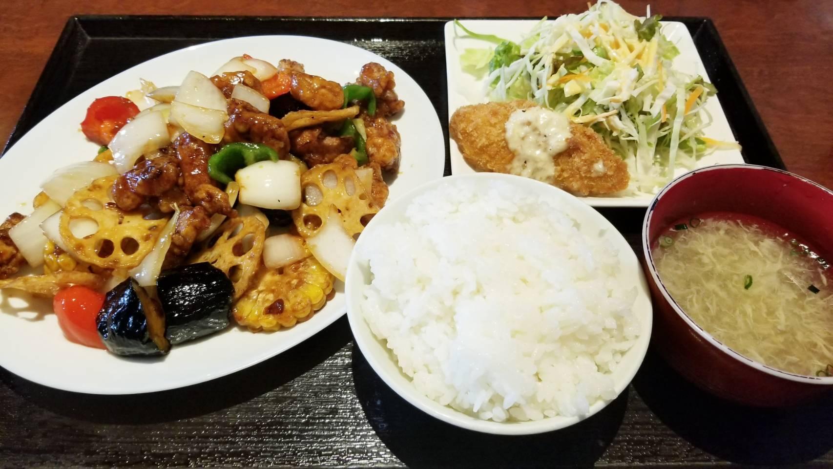 ランチパスポート愛媛県松山市安くておいしいグルメ真心中華大盛り得