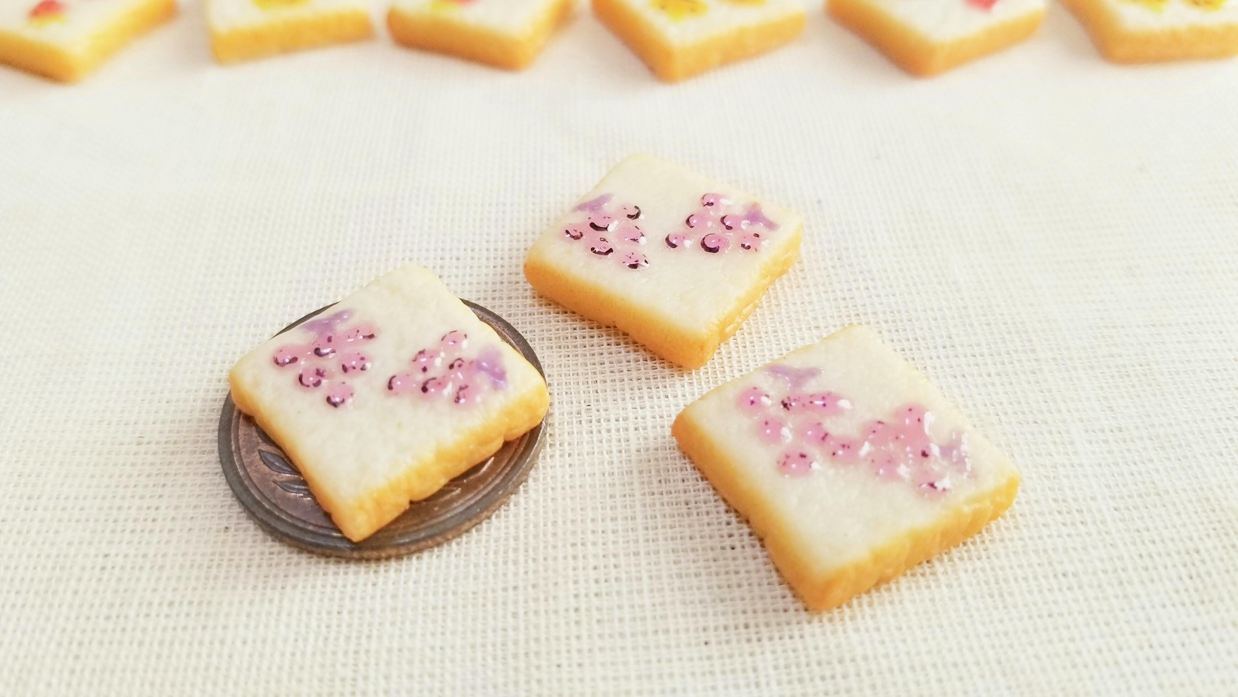 美味しい可愛い柄トースト食パンおすすめハンドメイド小物手作り