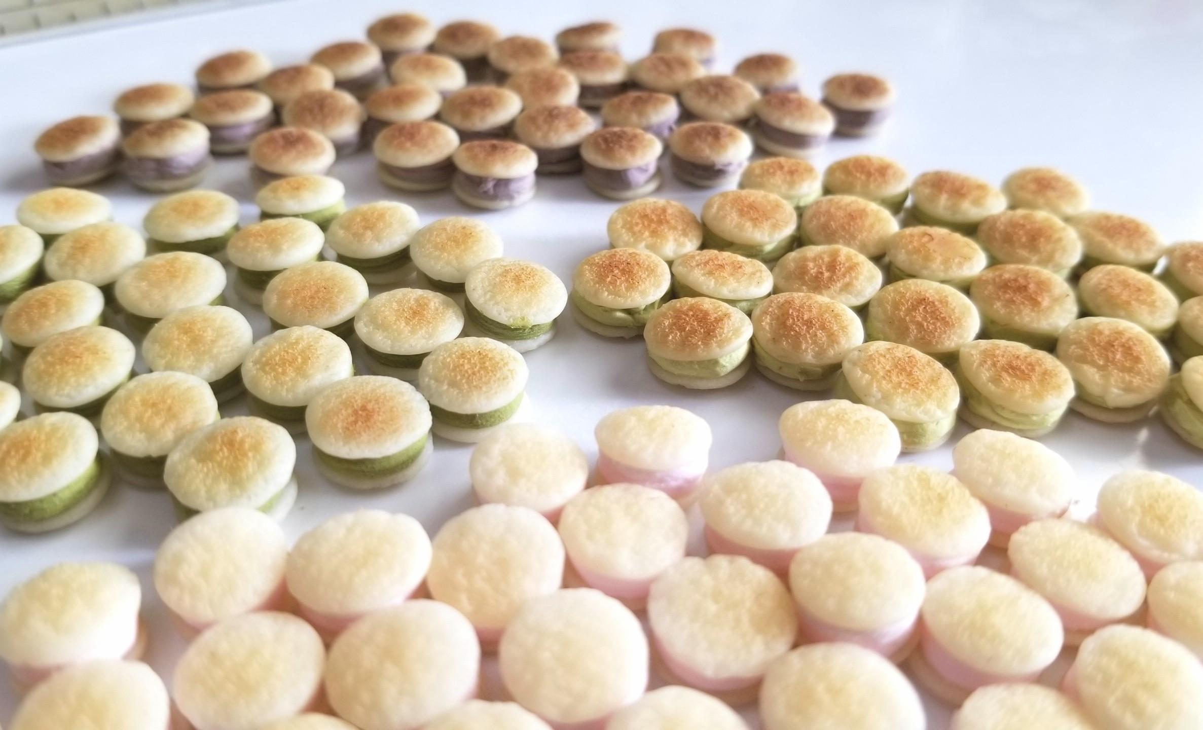 ミニチュア,和菓子,クリームどら焼き,樹脂粘土,ドールハウス,オビツ