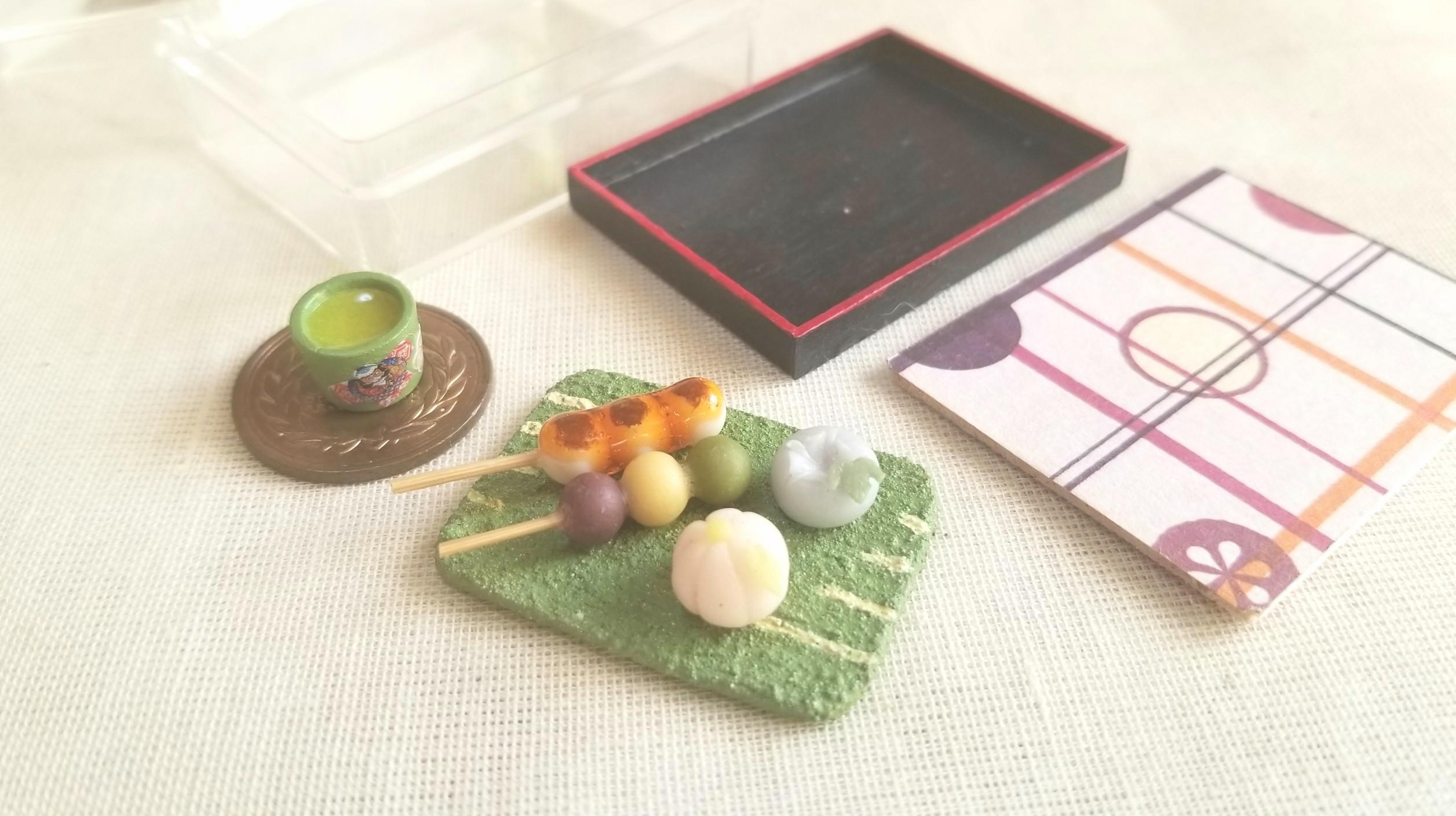 ミニチュアフード,ハンドメイド和菓子,かわいいドール小物,樹脂粘土
