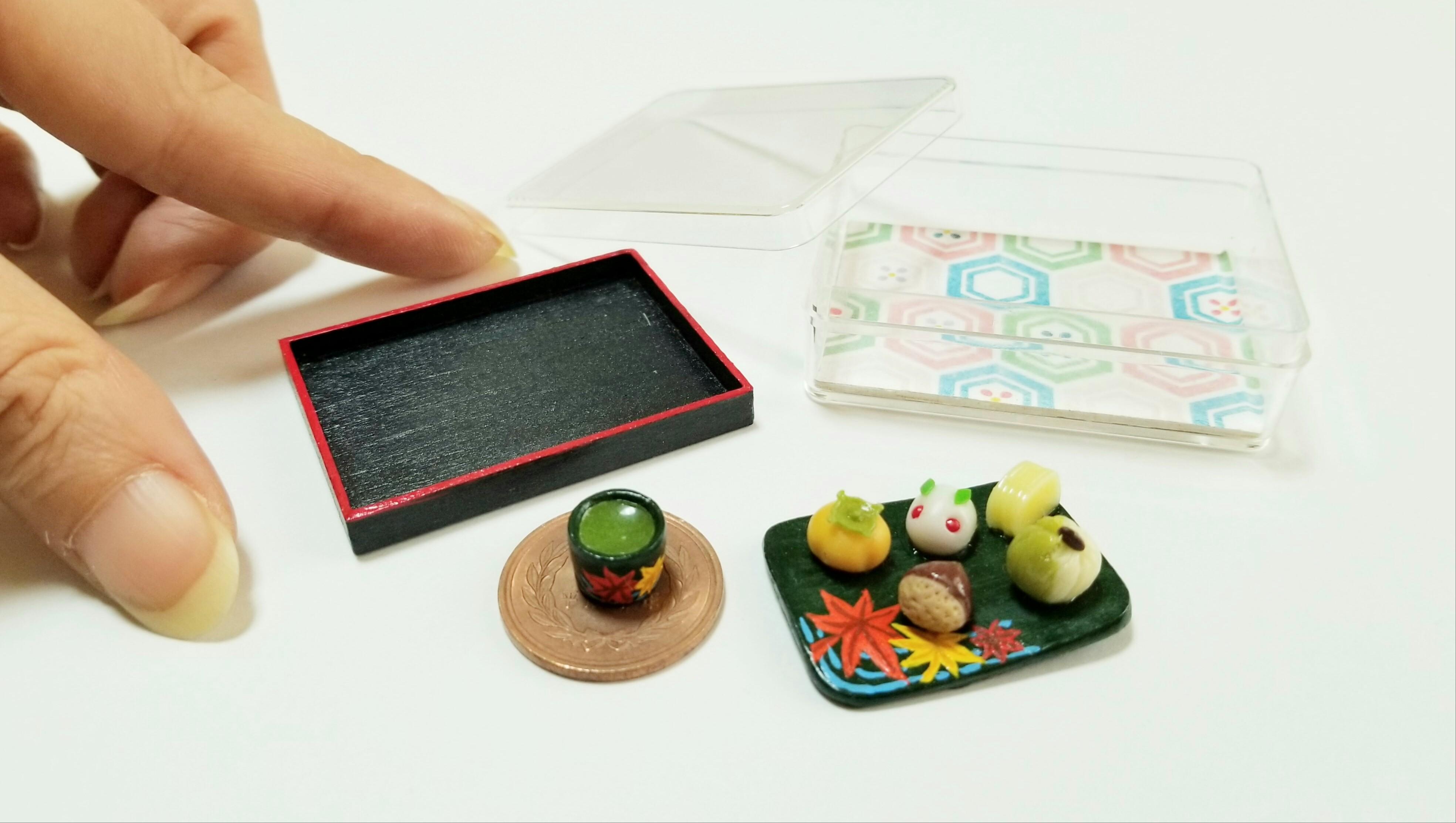 ミニチュアフードの小さな世界和菓子ドール用品小物可愛いおすすめ
