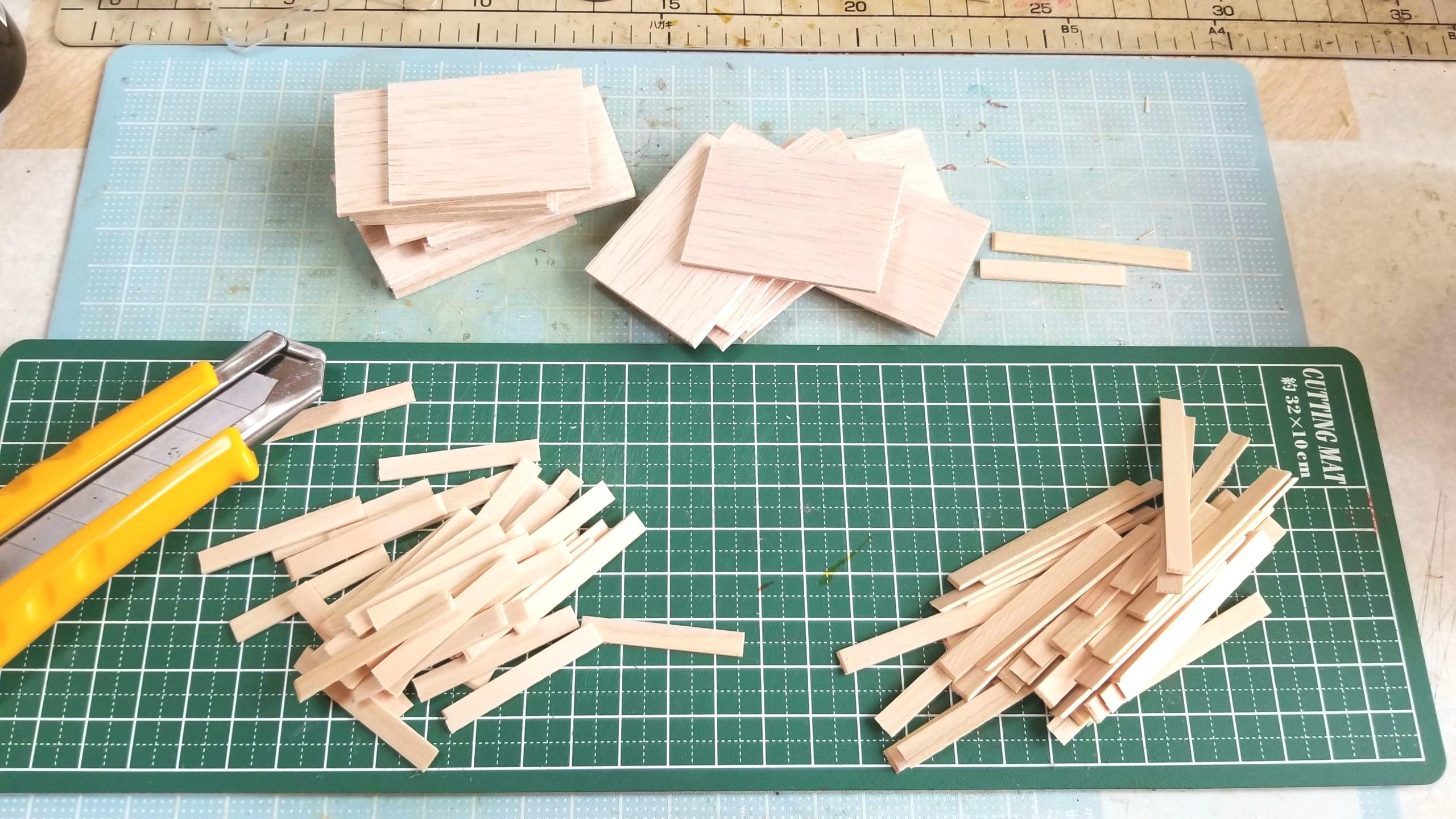 おぼん,作り方,ミニチュアフード,ひのき,桧,木材,木工作業,日曜大工