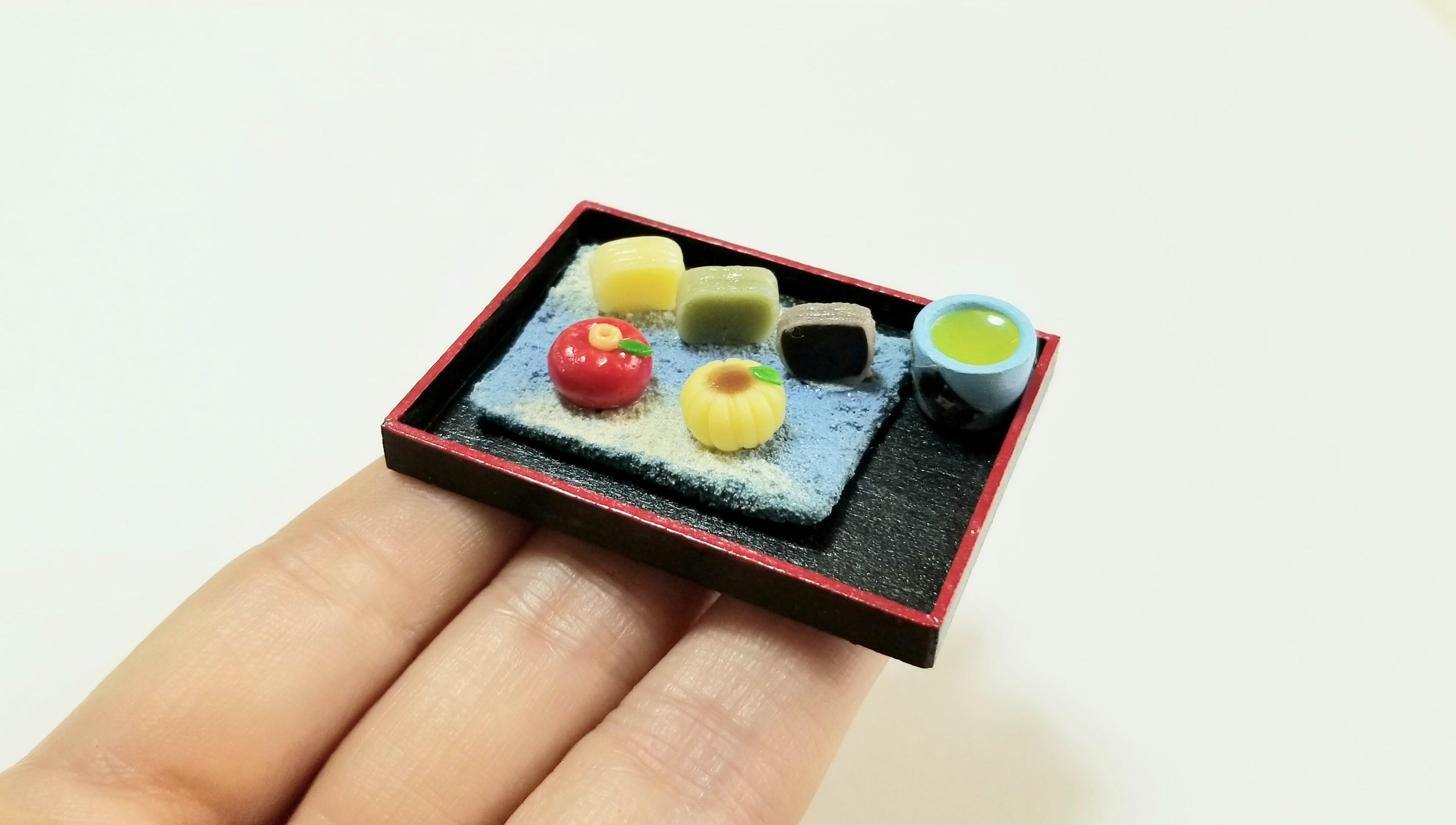 ミニチュアフード可愛い和菓子樹脂粘土ミンネで販売中おすすめブログ
