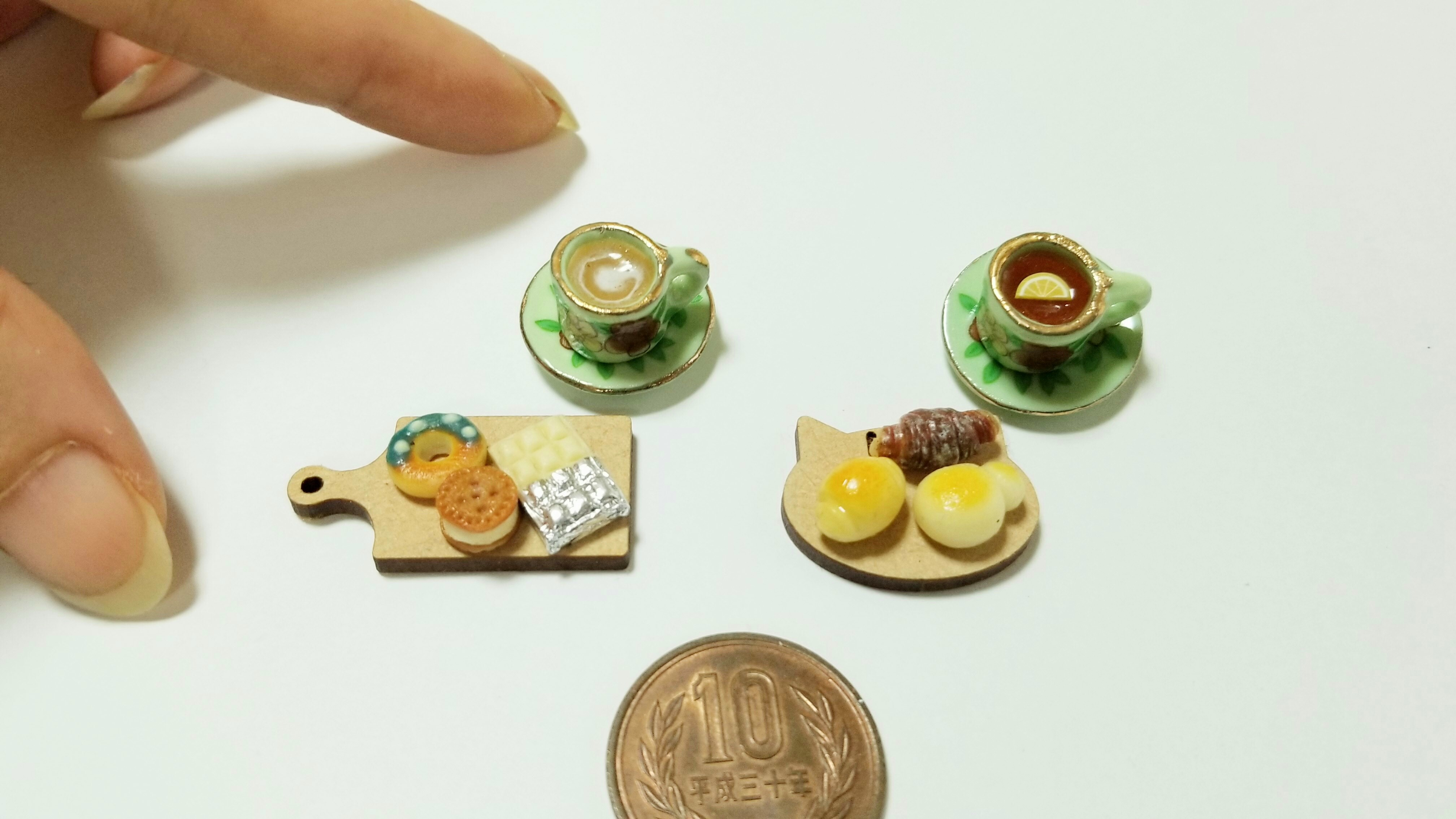 ミニチュアフードツイッタープレゼント企画かわいい小物小さな世界