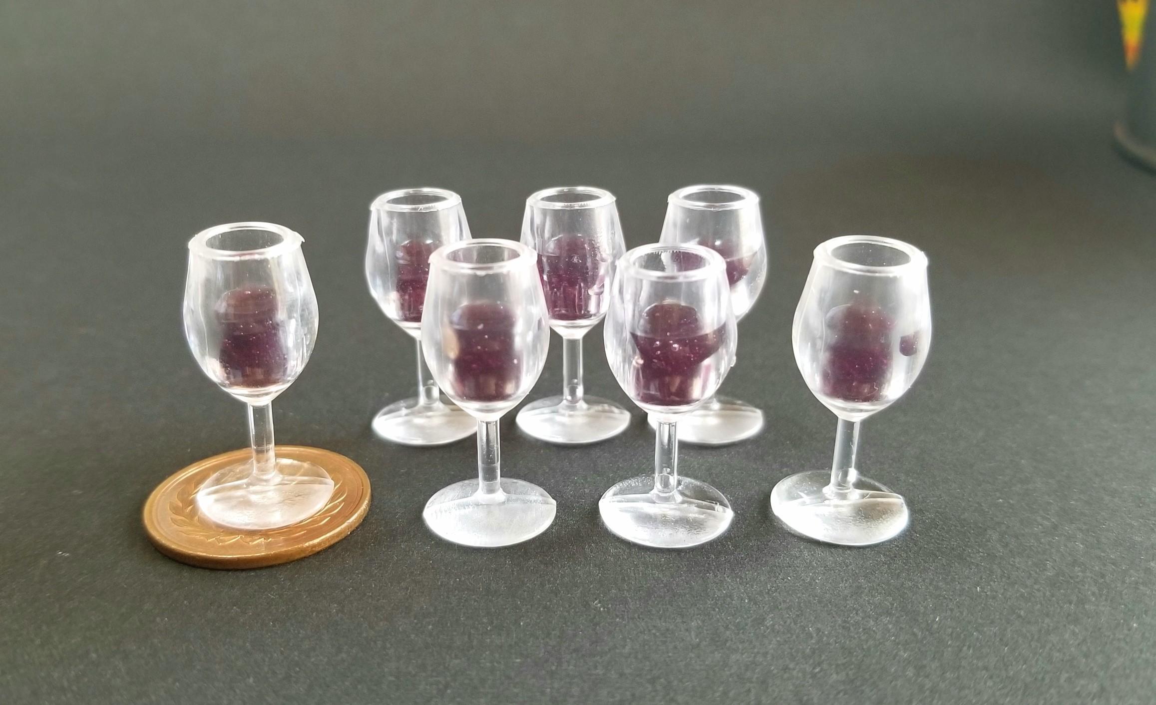 ミニチュアフード,シャンパン,ワイン,レジン,シルバニア,ブライス