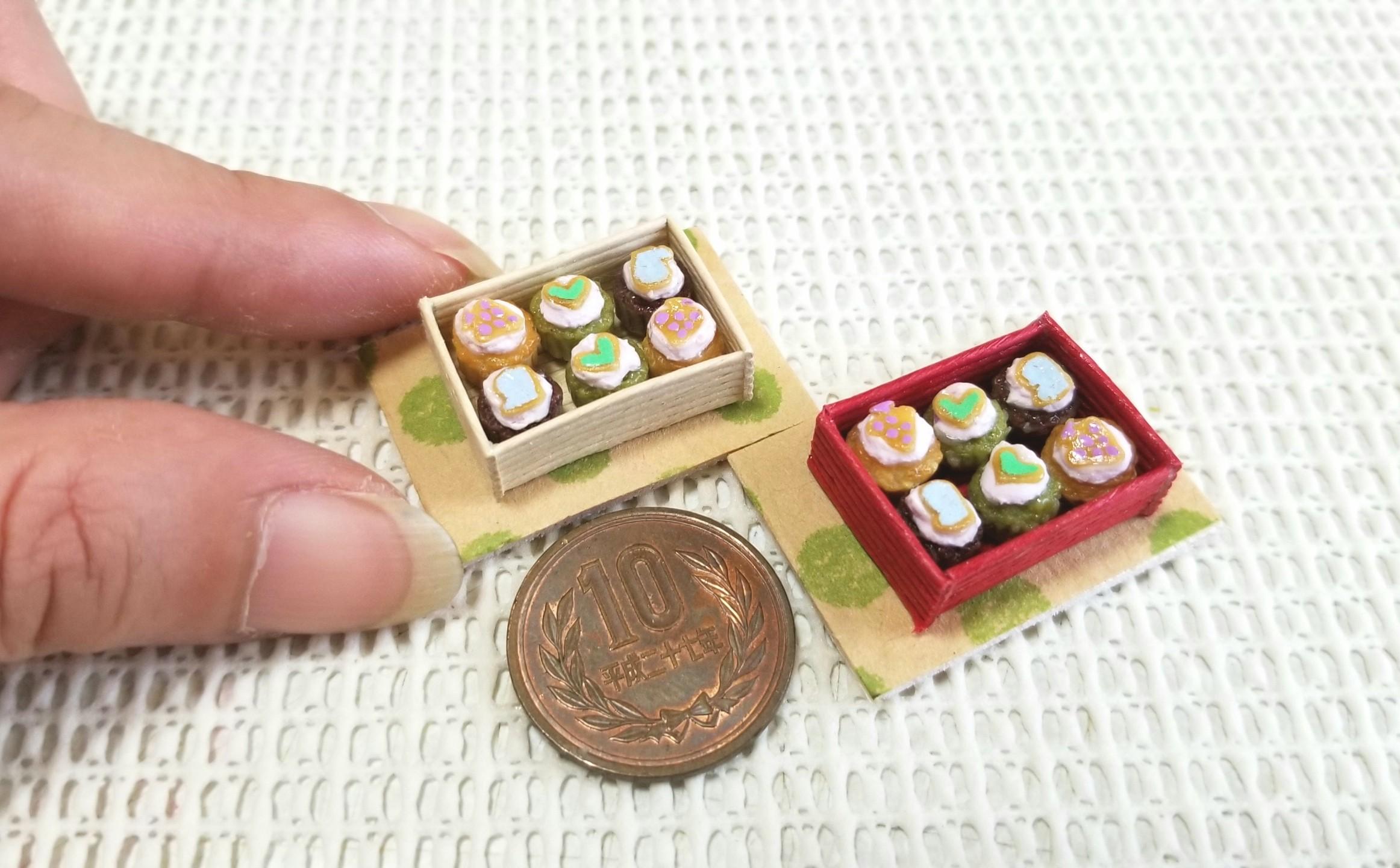 ミニチュア, ミニカップケーキ, ミンネで販売中, 可愛い, シルバニア