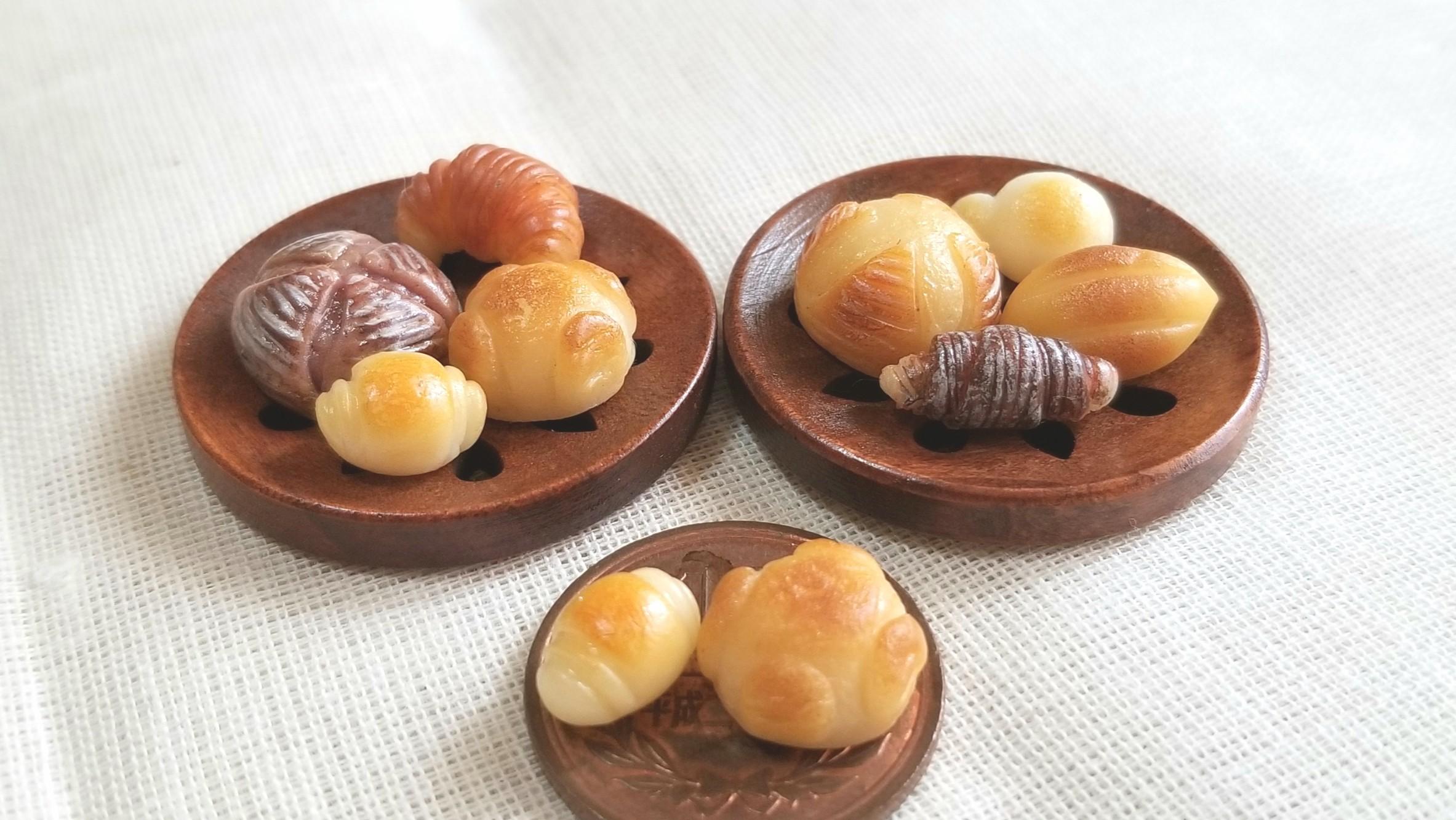 ミニチュアフード,おいしいパン,ミンネで販売中,ドール小物おもちゃ