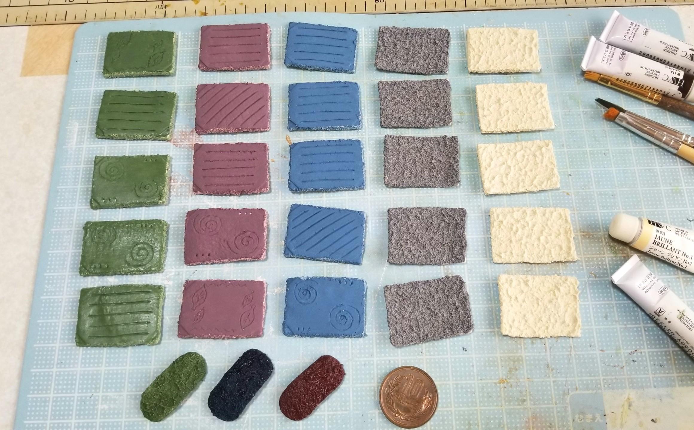 ミニチュアフード,和食器,作り方,食器,陶器,石塑,ラドール,樹脂粘土