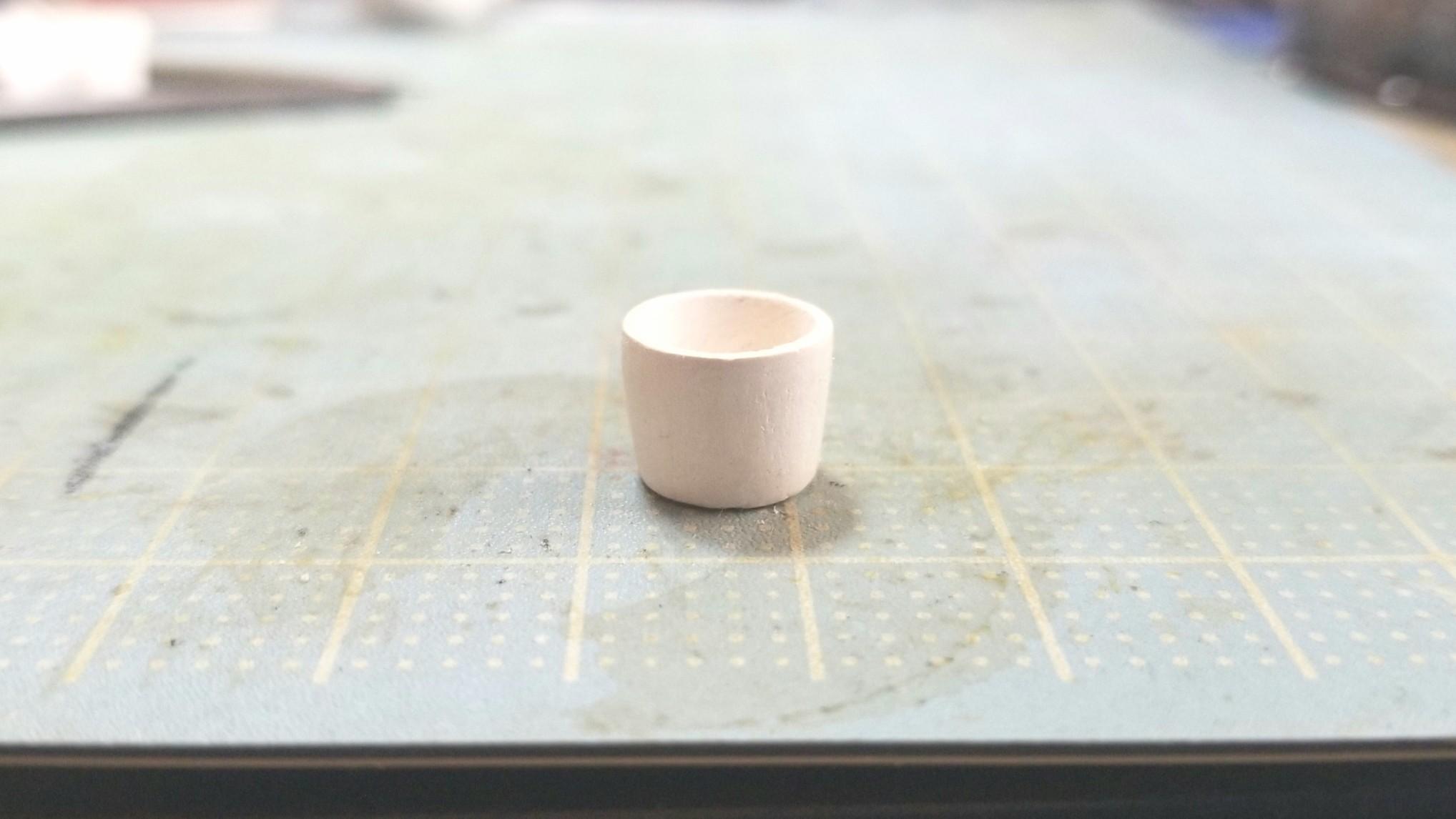 ミニチュアお抹茶の作り方,自作アート,ハンドメイド手作り,上品な