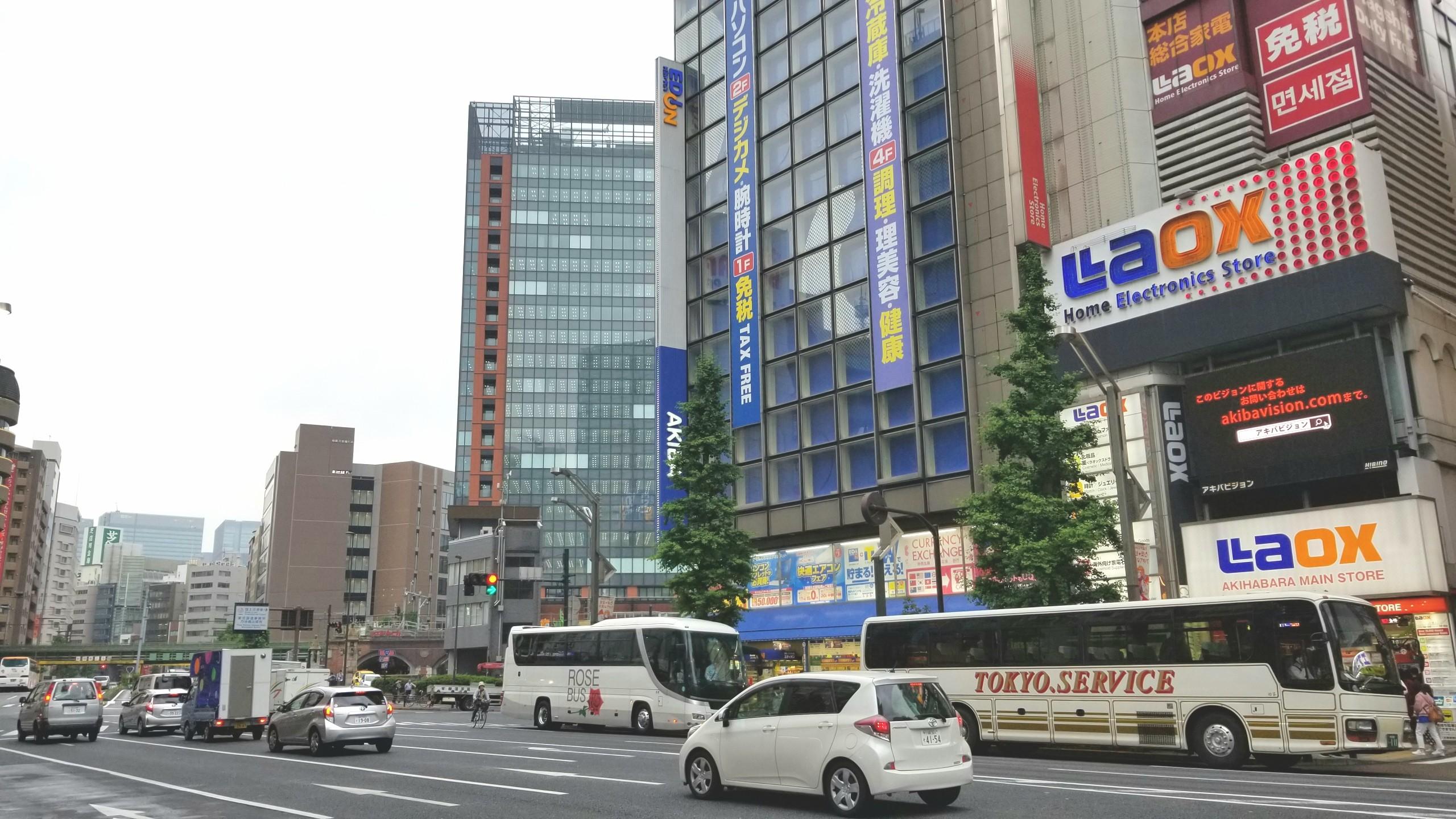 東京秋葉原,母と二人でぶらり旅,ドール探索,観光,旅行,オタクの聖地