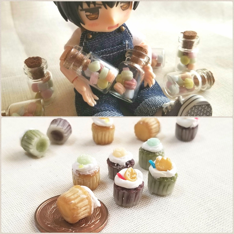 ミニチュアフード,お菓子,ミンネで販売,かわいいドール小物おもちゃ