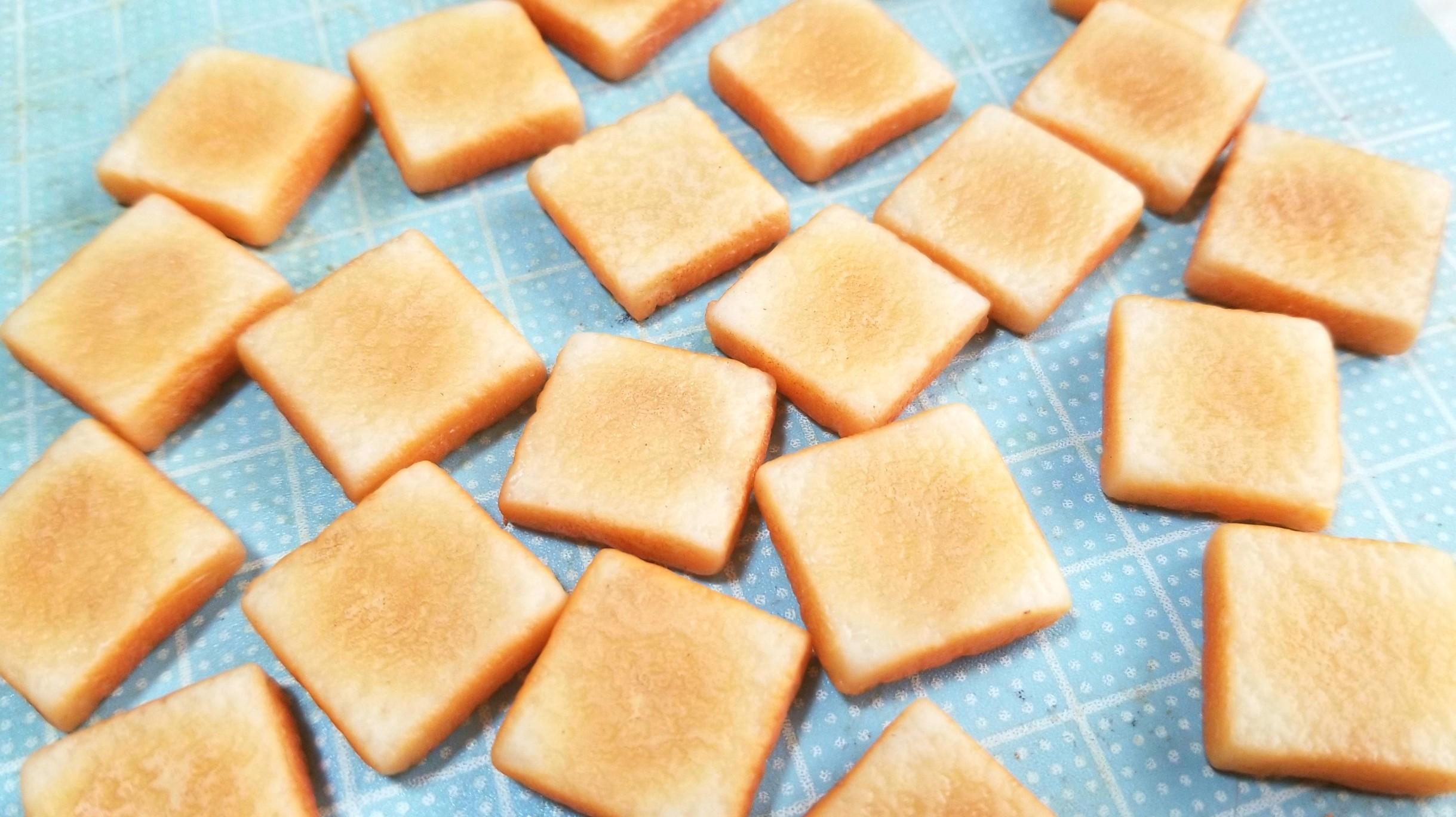 ミニチュアフードの作り方,試行錯誤,自己流アレンジ,可愛手作りパン