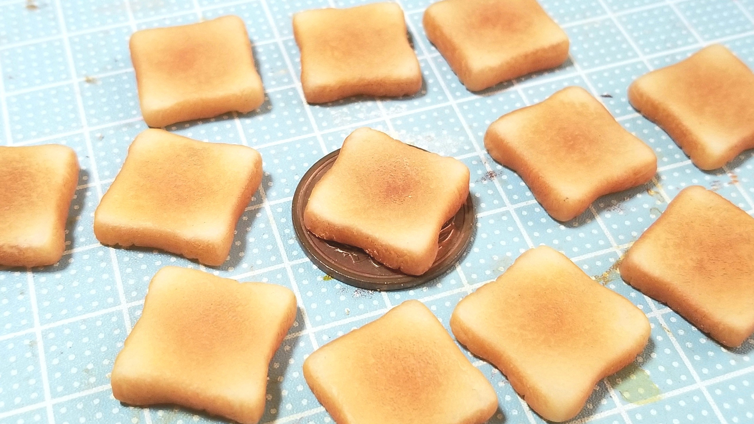 目玉焼きの作り方,ミニチュアトースト,こんがり熟成,ラピュタパン