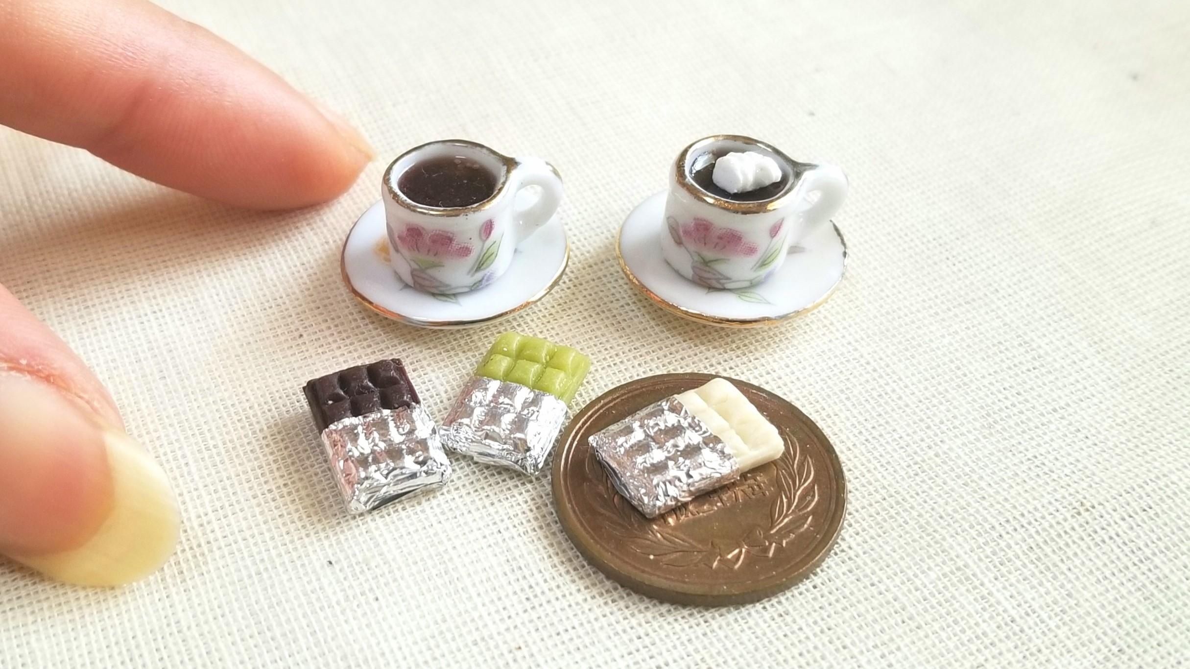 バレンタインデー,かわいいお洒落チョコレート,おすすめミニチュア